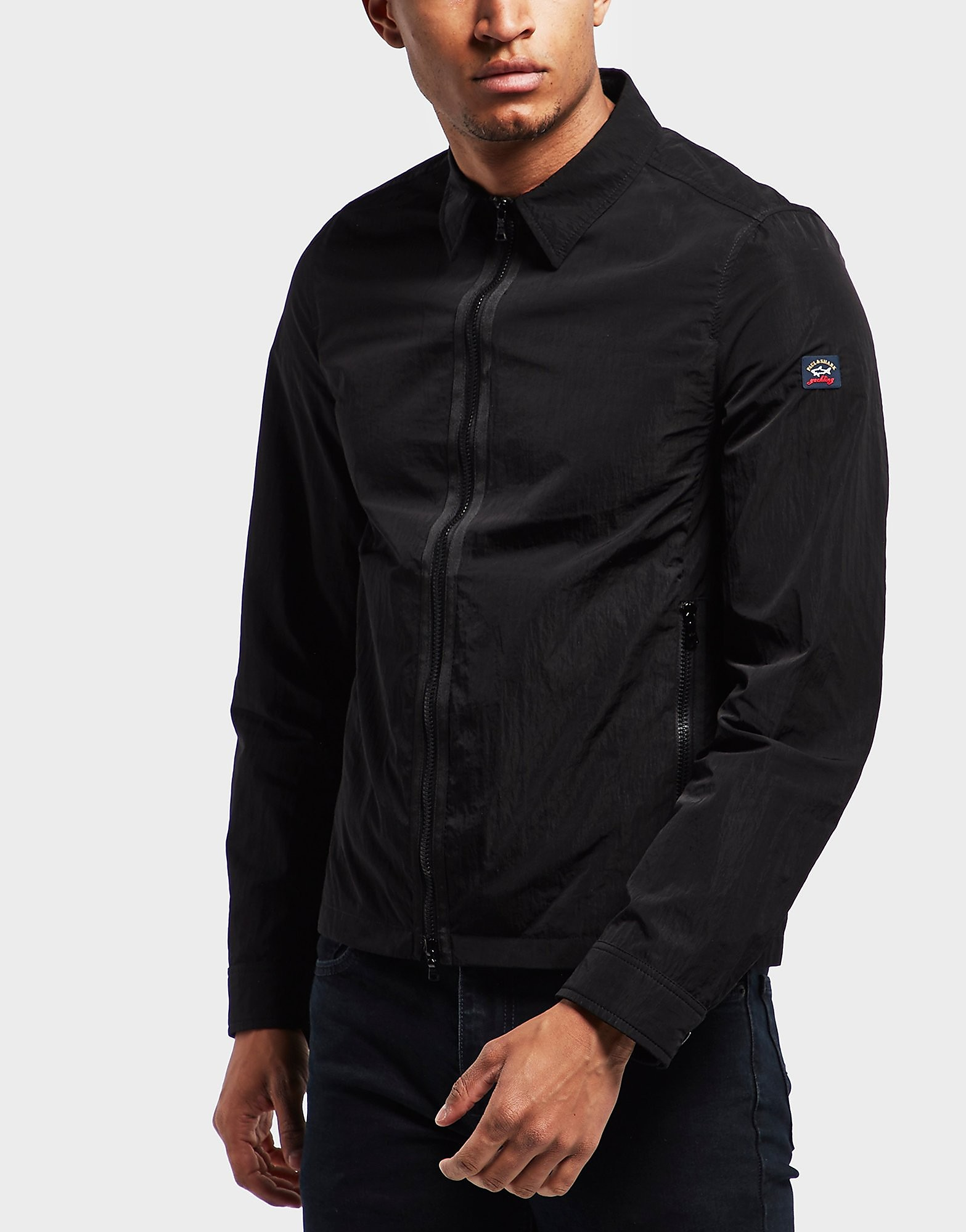 Paul and Shark Full Zip Metal Overshirt