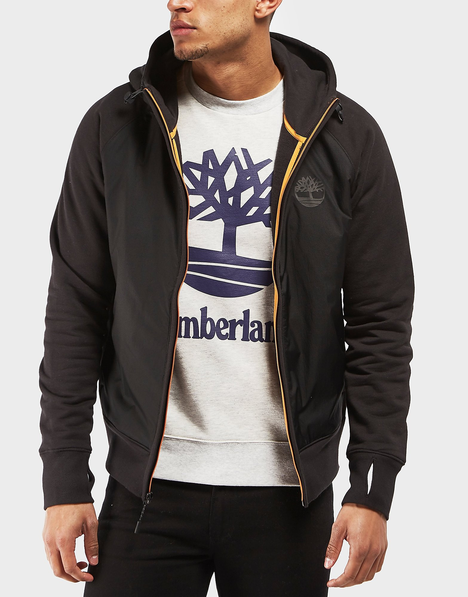 Timberland Hybrid Full Zip Hoodie