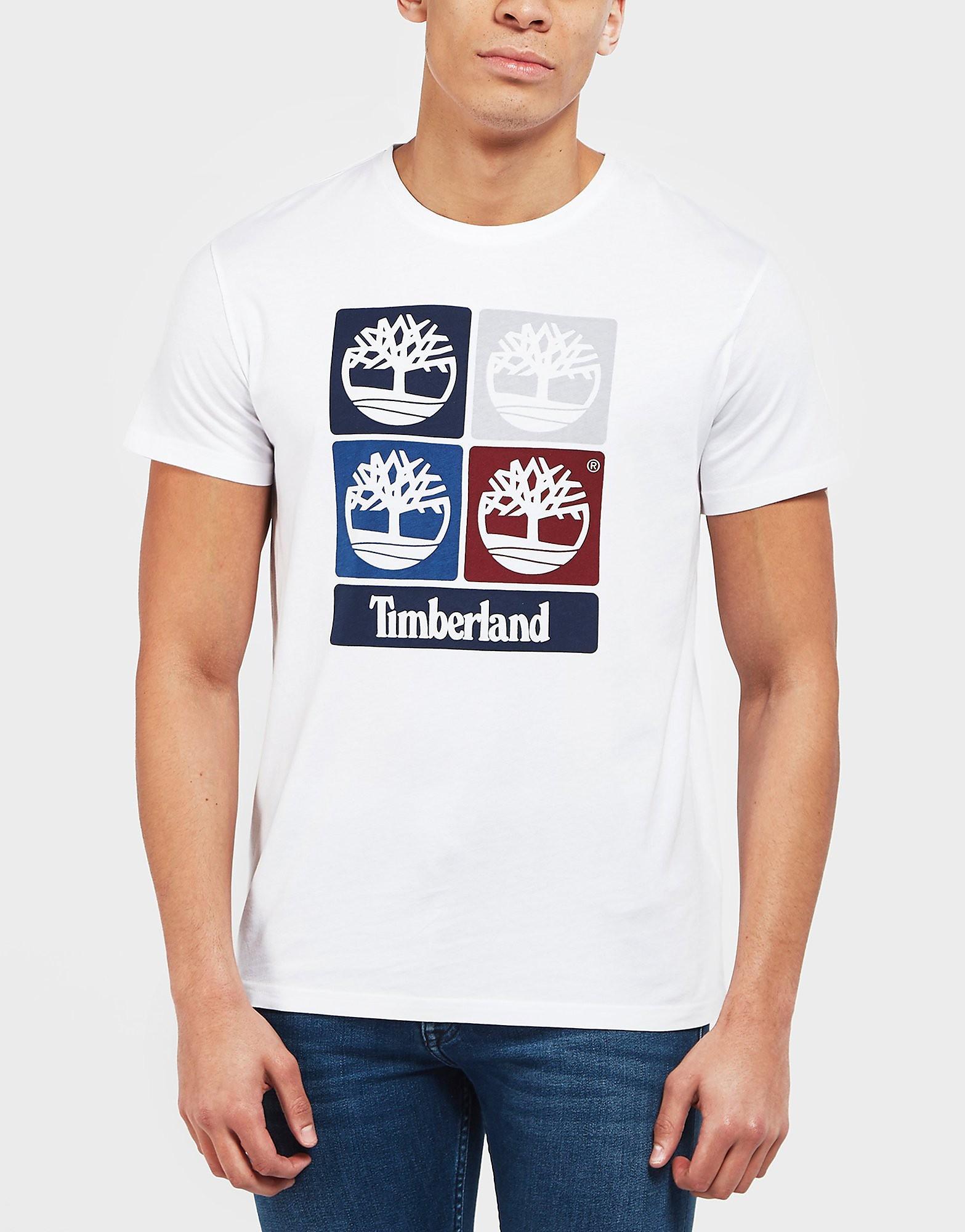 Timberland Multi Logo Short Sleeve T-Shirt