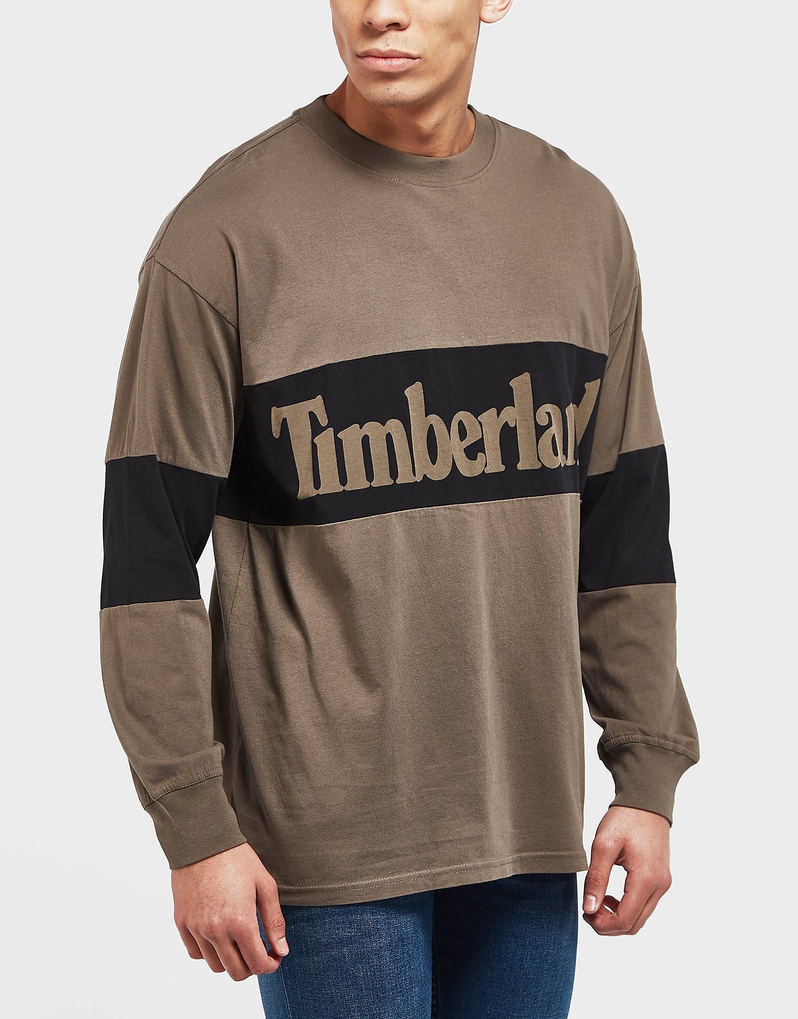 Timberland Chest Panel Long Sleeve T-Shirt