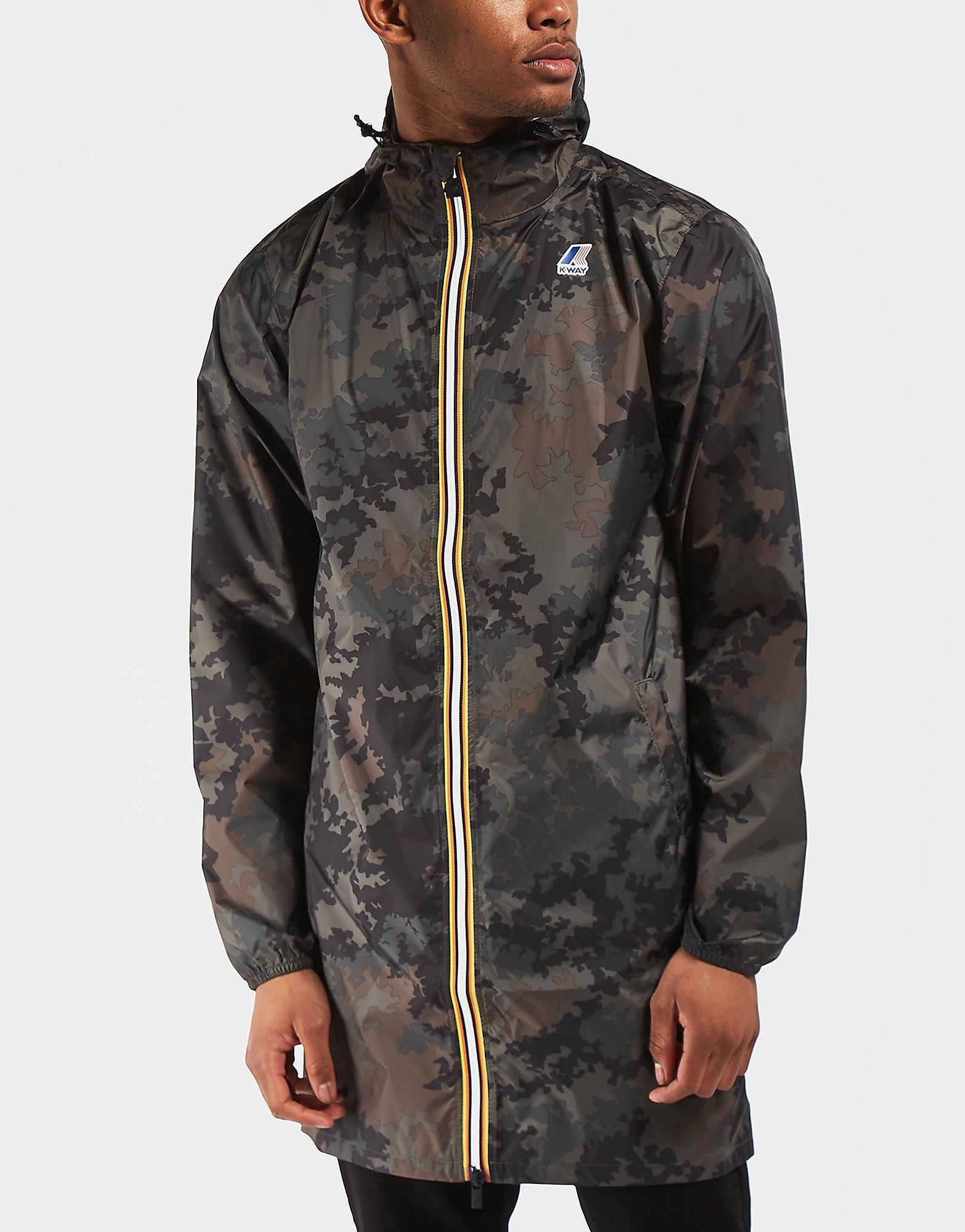 K-Way Eiffel Lightweight Camo Jacket