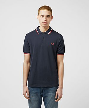 Fred Perry Twin Tip Polo Shirt