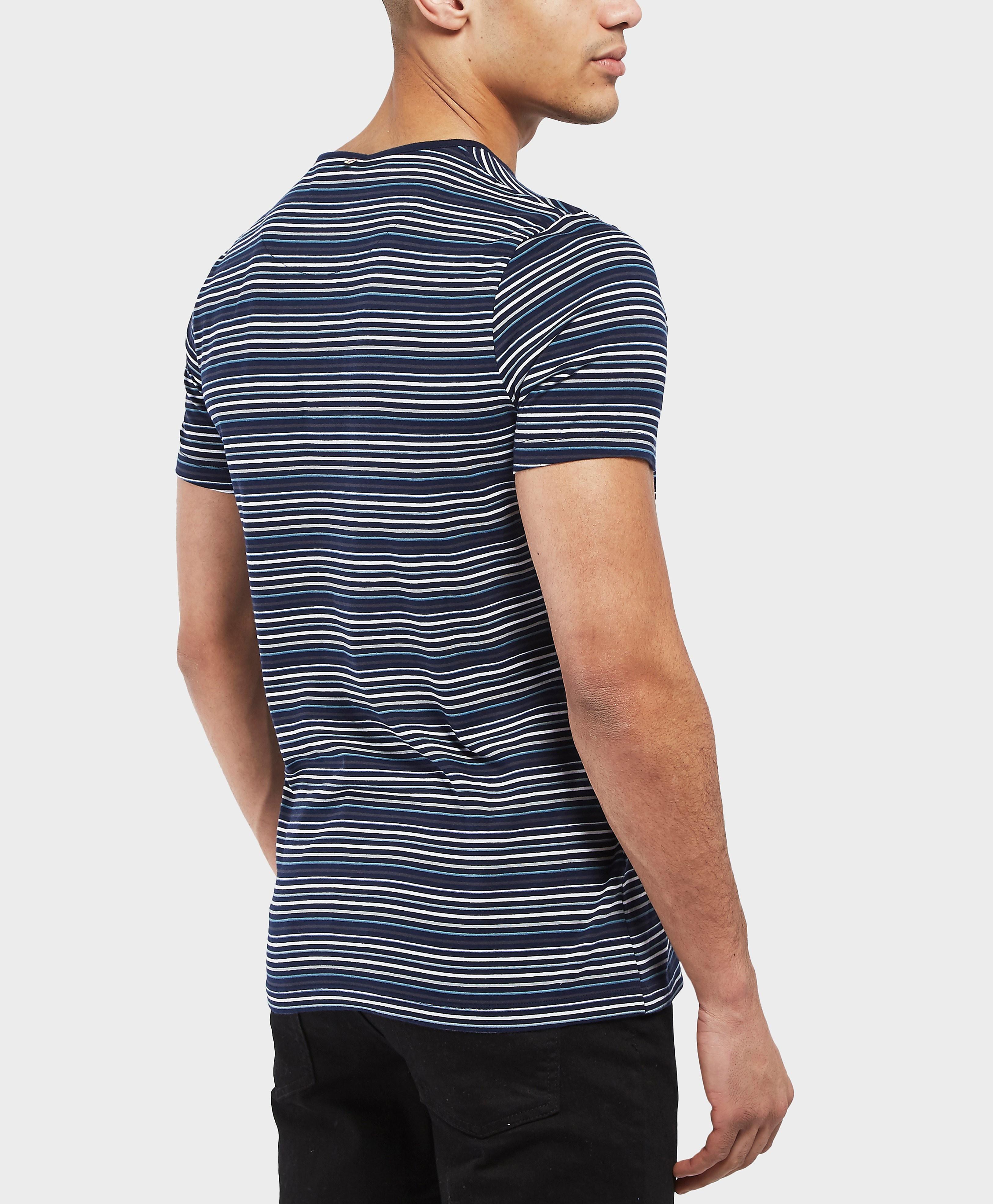 Pretty Green Argenta Stripe Short Sleeve T-Shirt