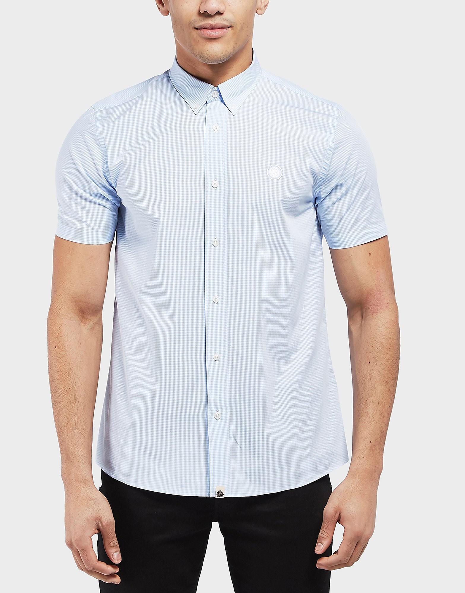 Pretty Green Gingham Short Sleeve Shirt