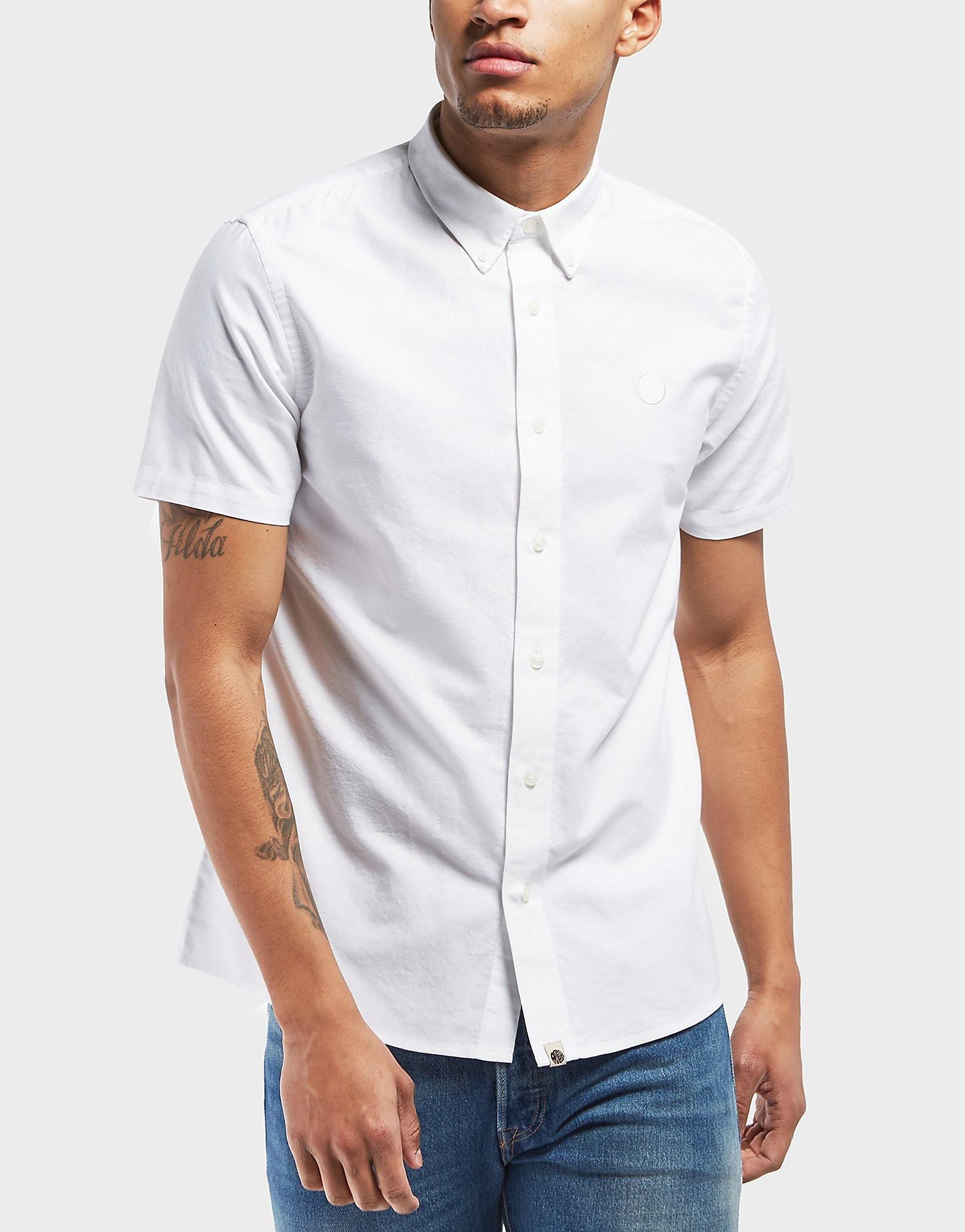 Pretty Green Short Sleeve Oxford Shirt