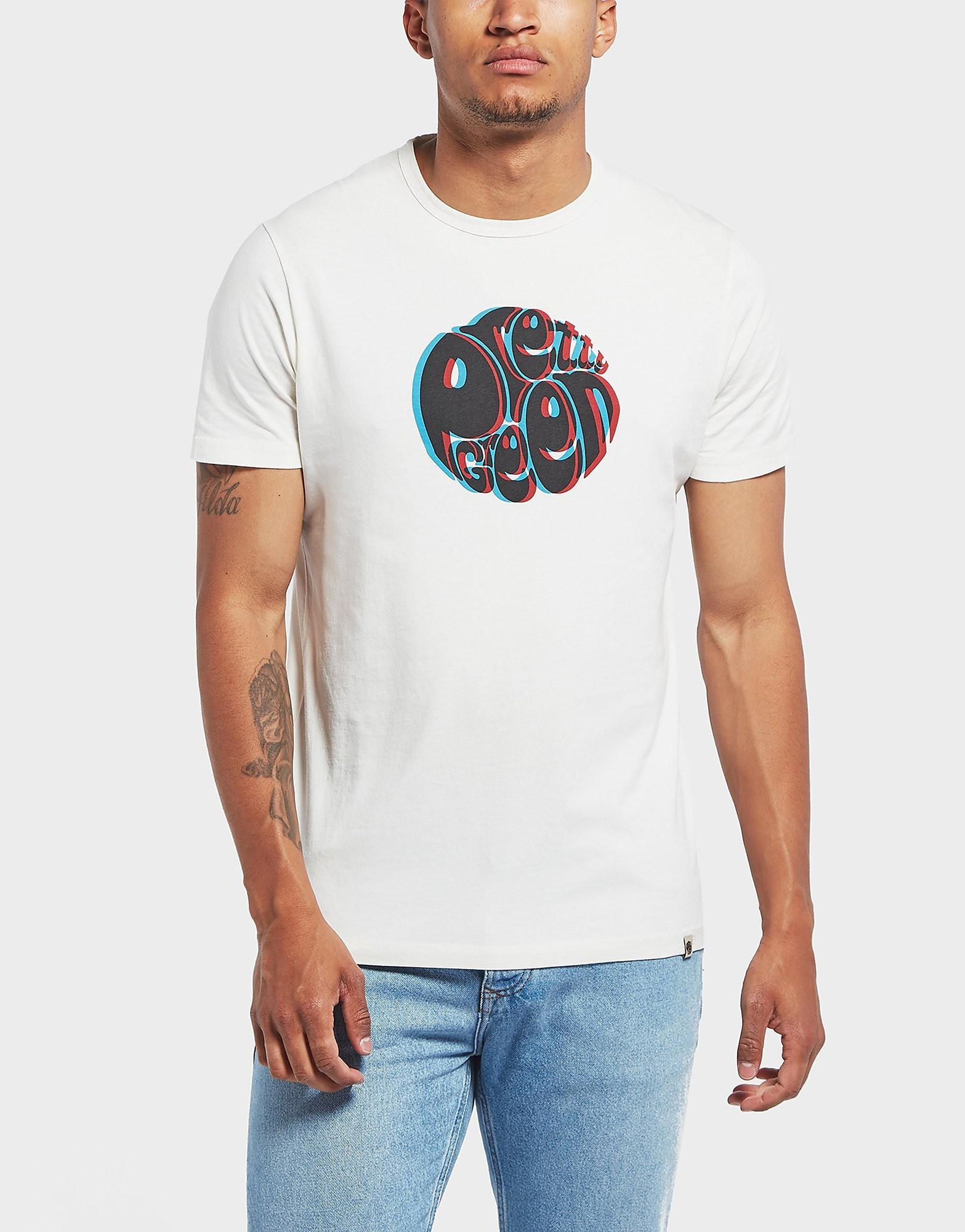 Pretty Green 3D Logo Short Sleeve T-Shirt