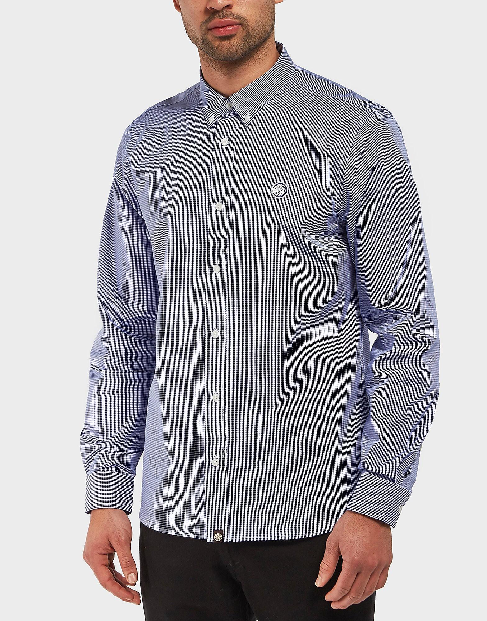 Pretty Green Hendry Gingham Long Sleeve Shirt