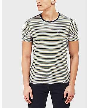 Pretty Green Hawkley Stripe Short Sleeve T-Shirt ...