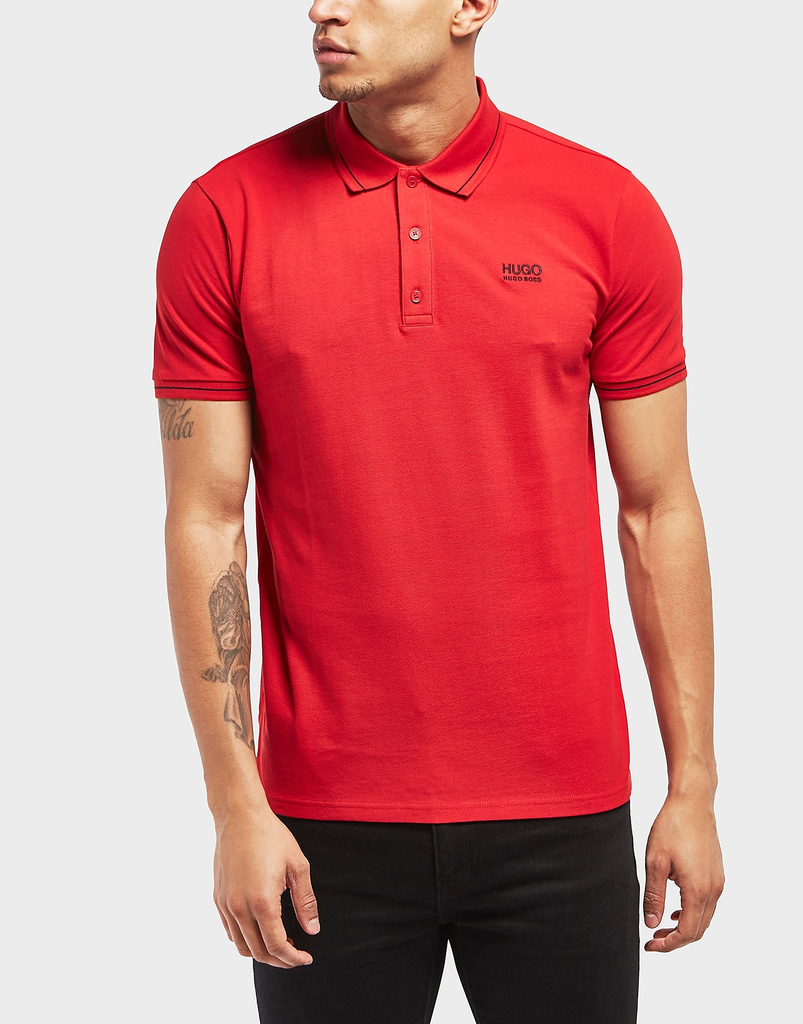 HUGO Daruso Short Sleeve Polo Shirt