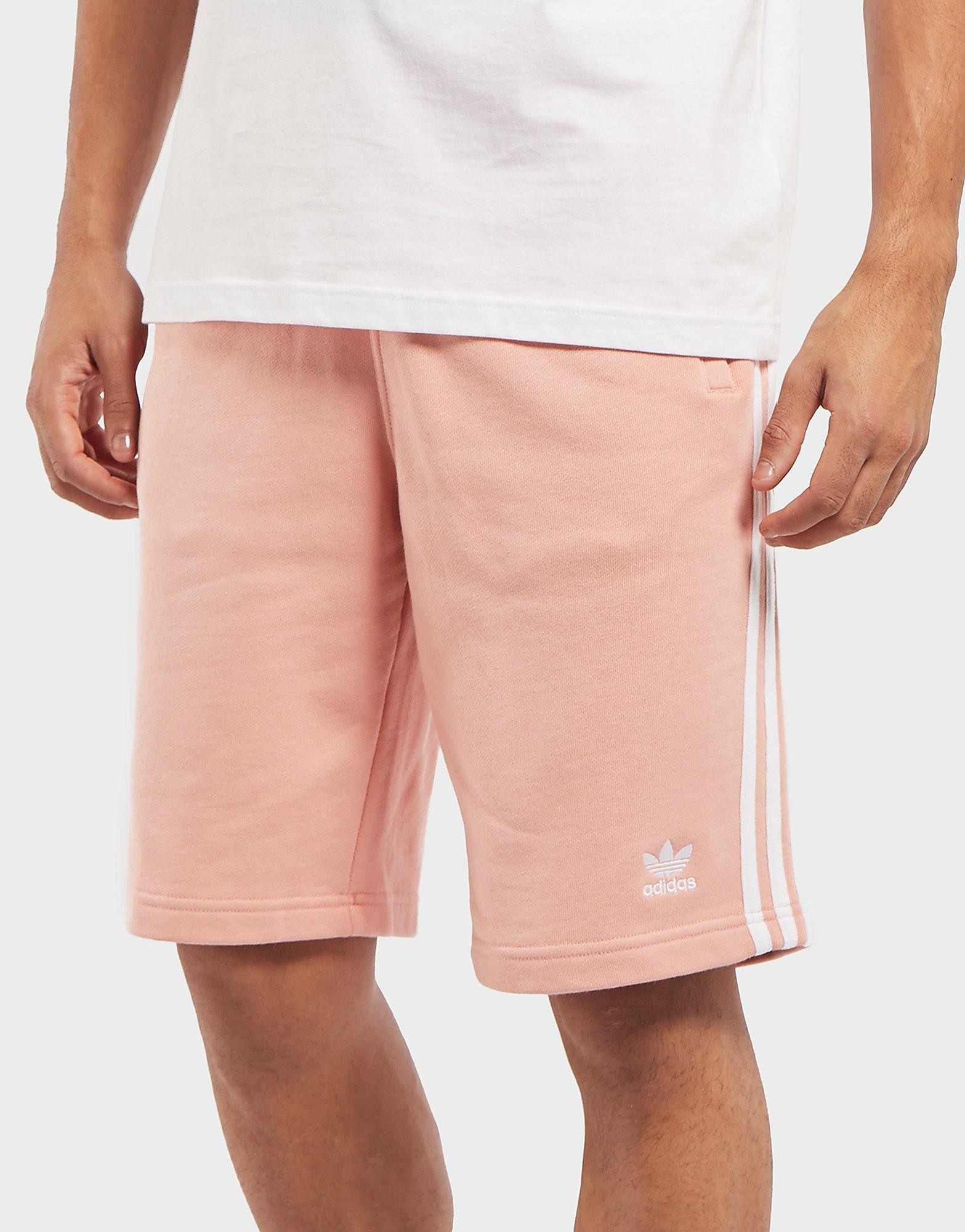 adidas Originals 3-Stripe Fleece Shorts