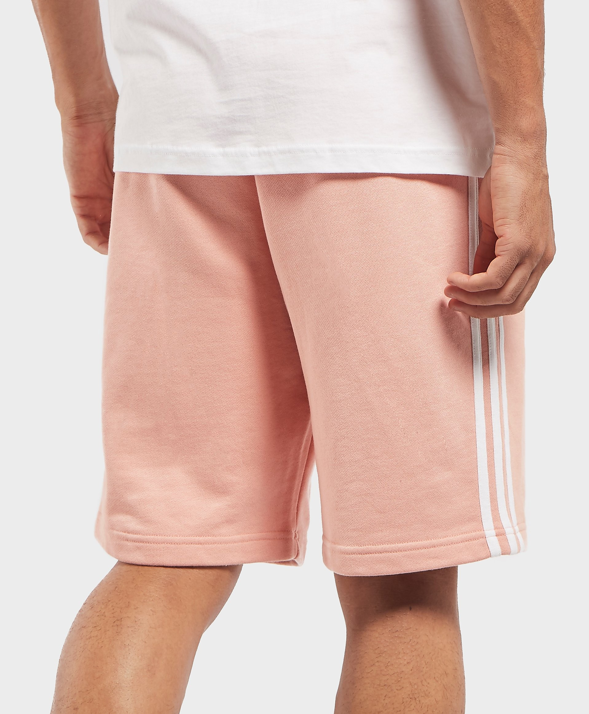 adidas Originals 3-Stripe Fleece Shorts