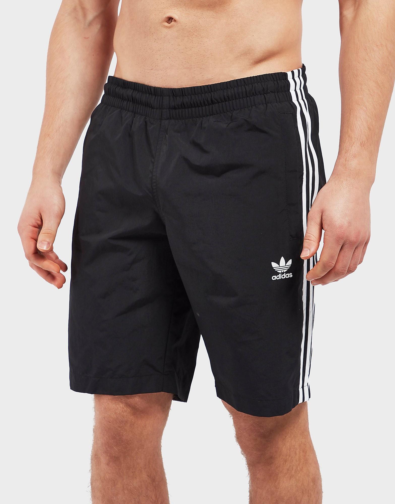 adidas Originals 3 Stripe Swim Shorts