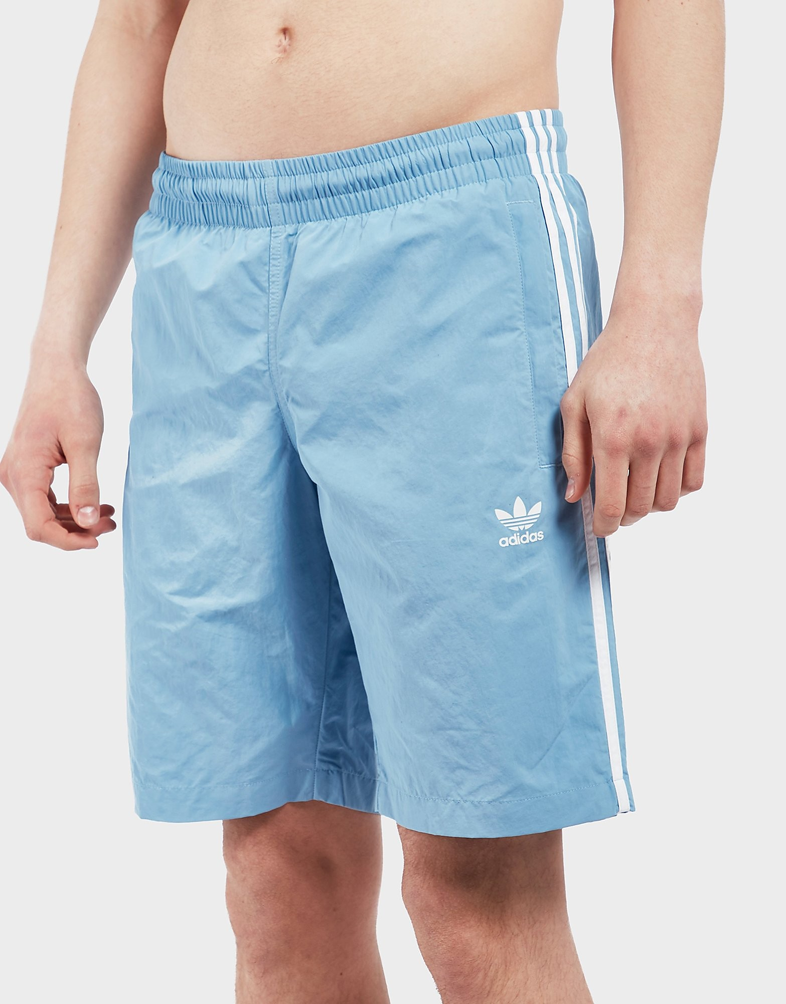 adidas Originals 3 Stripe Swim Shorts