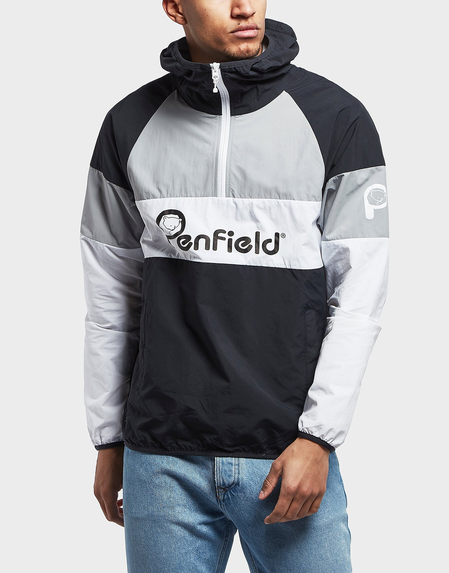 Penfield Bear Pack Block Overhead Lightweight Jacket