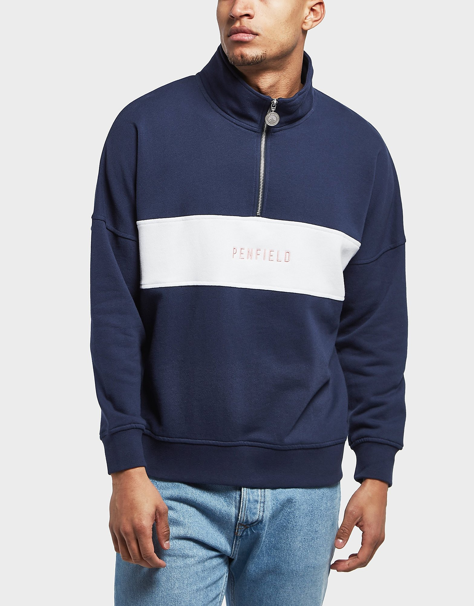 Penfield Hosmer Half Zip Sweatshirt