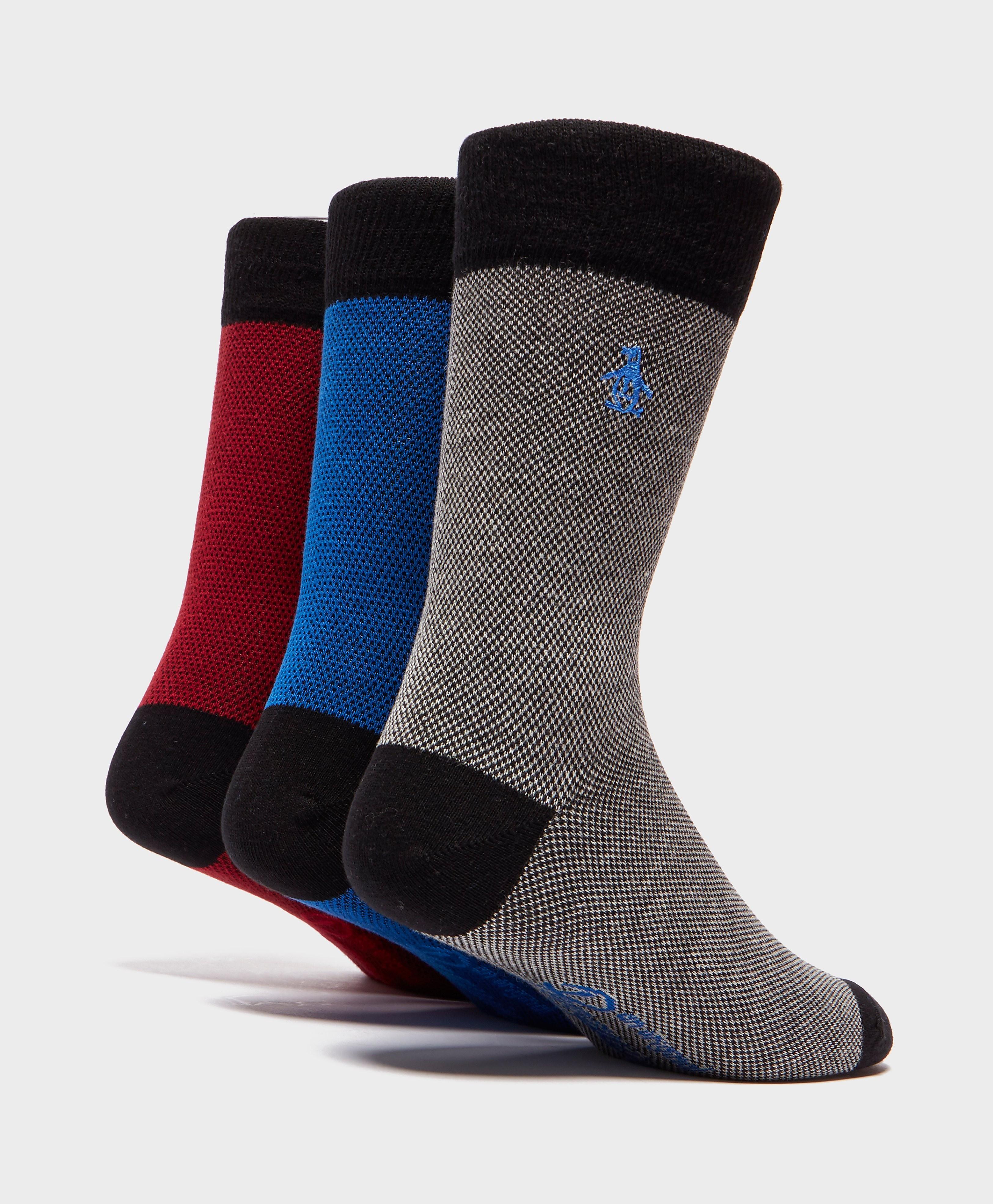 Original Penguin 3-Pack Socks