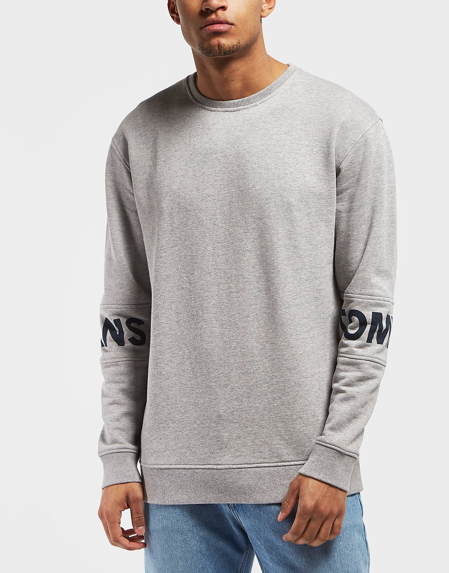 Tommy Hilfiger Sleeve Branded Crew Sweatshirt