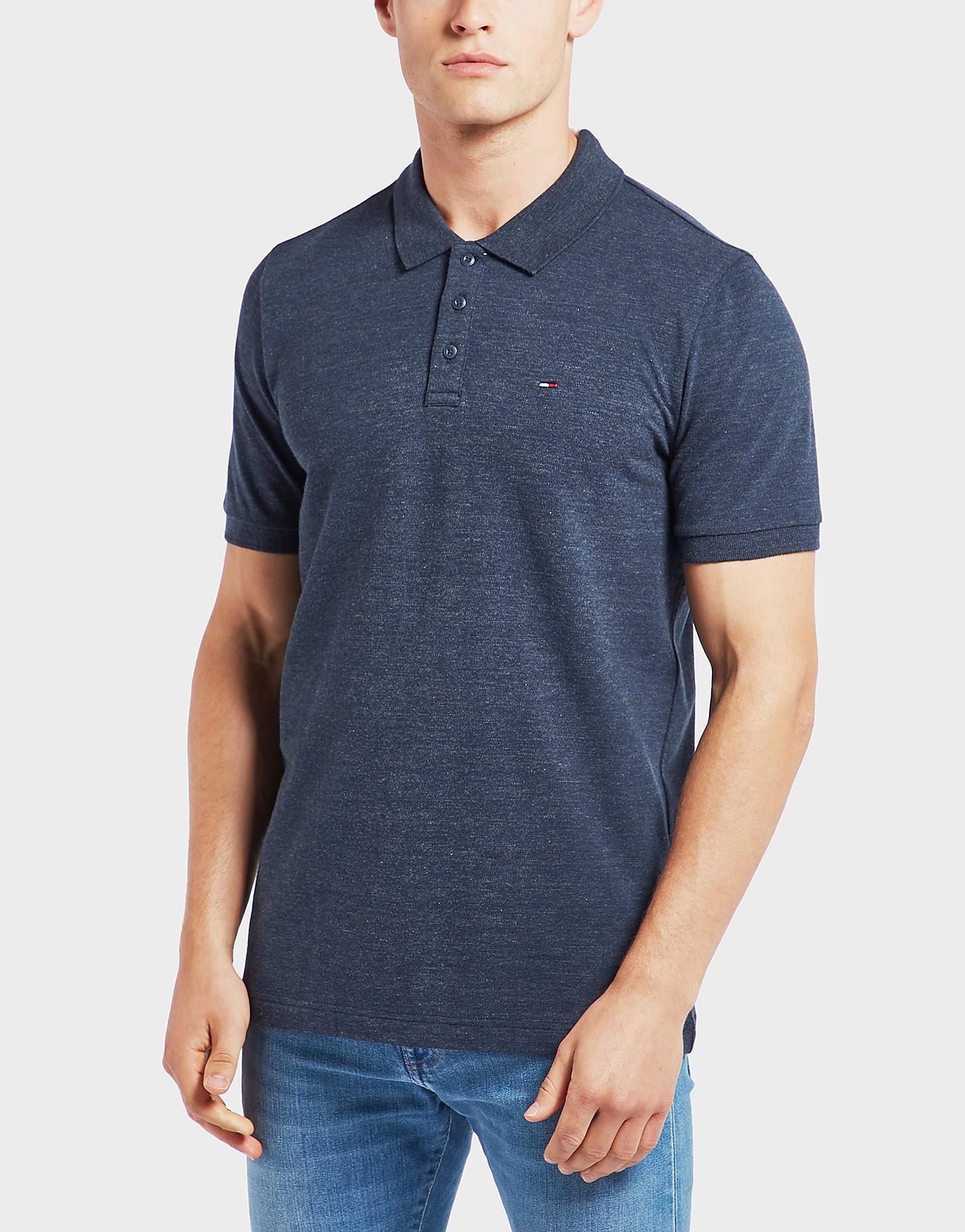 Tommy Hilfiger Flag Collar Short Sleeve Polo Shirt