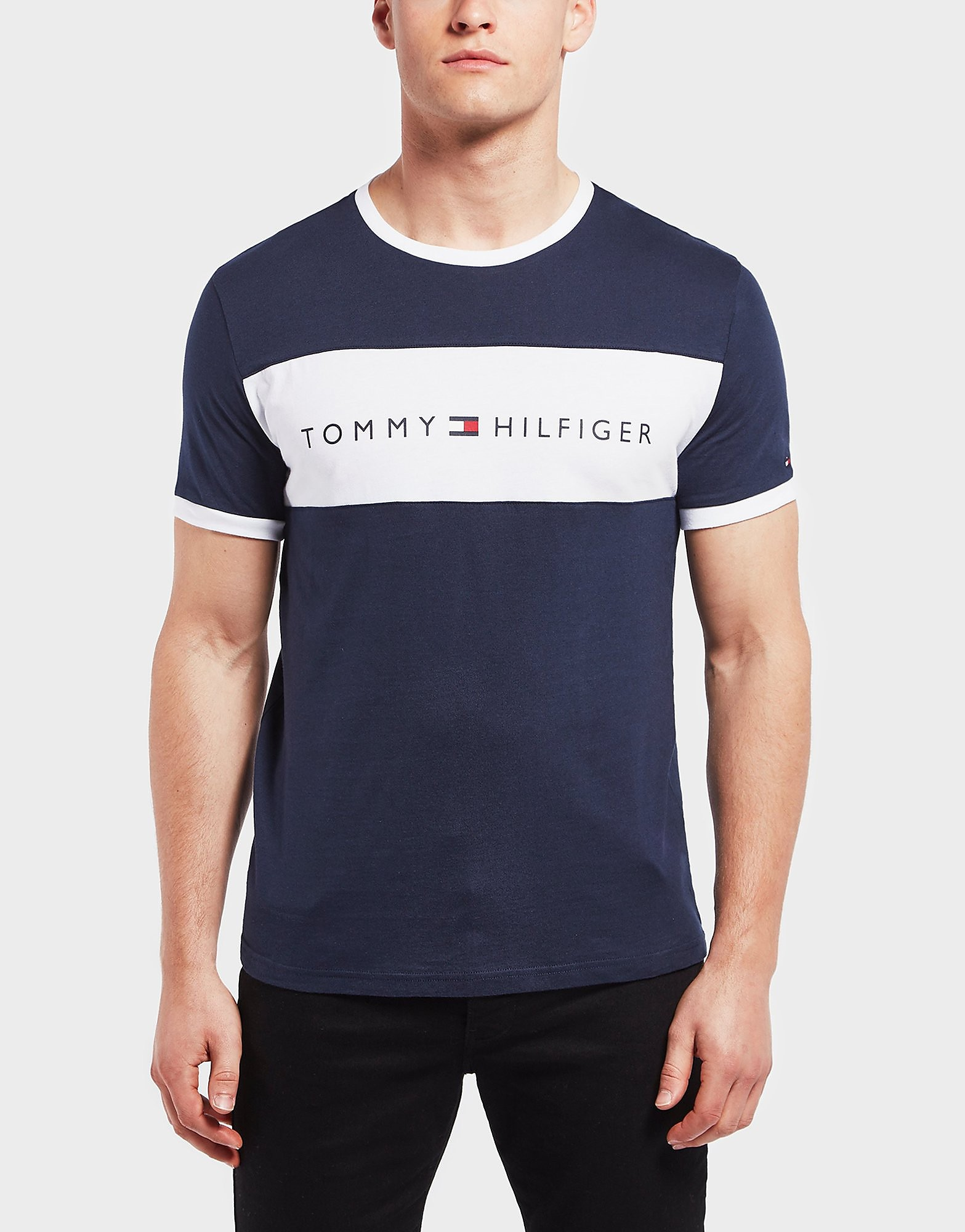 Tommy Hilfiger Colour Block Short Sleeve T-Shirt