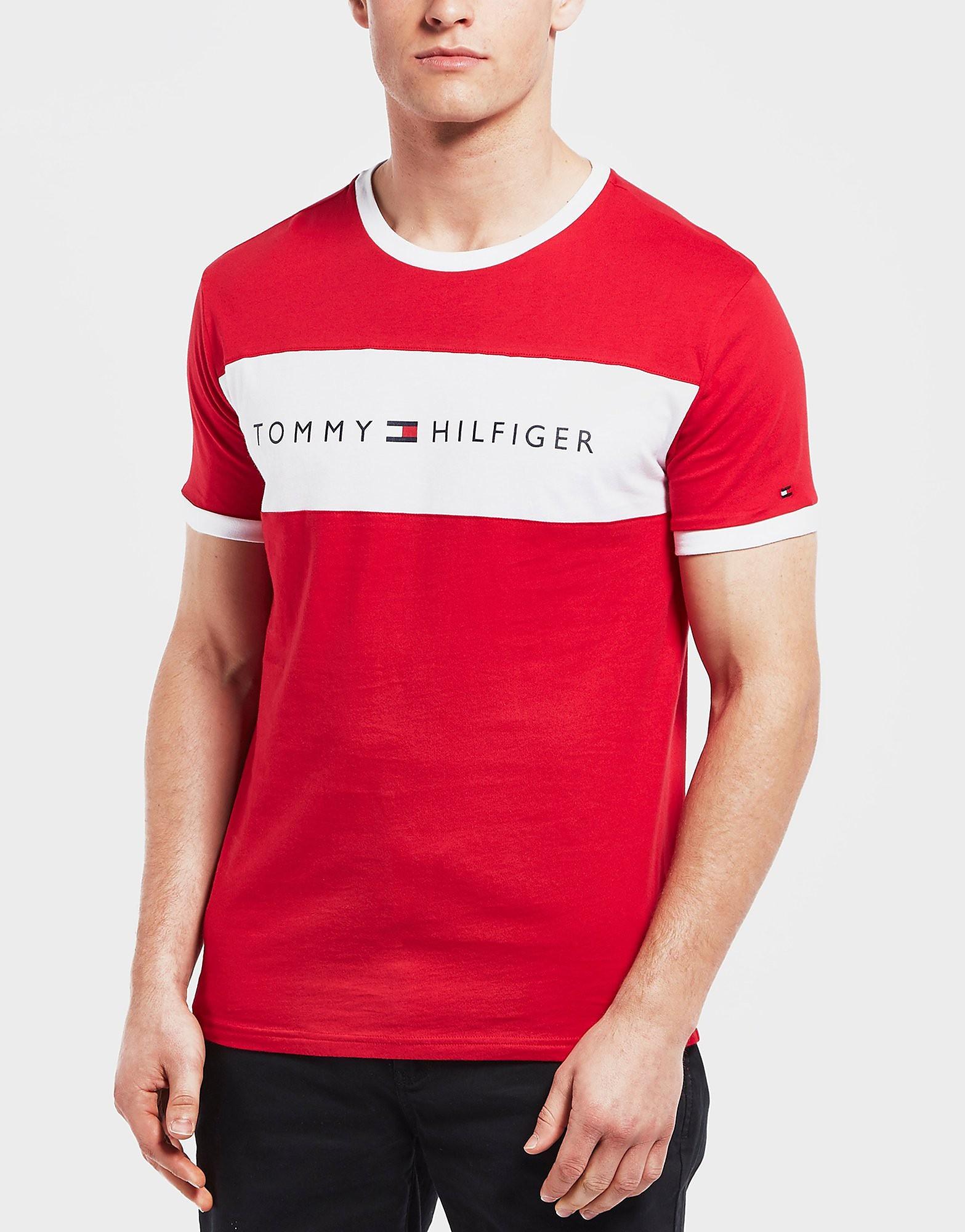 Tommy Hilfiger Colour Block Short Sleeve T-Shirt