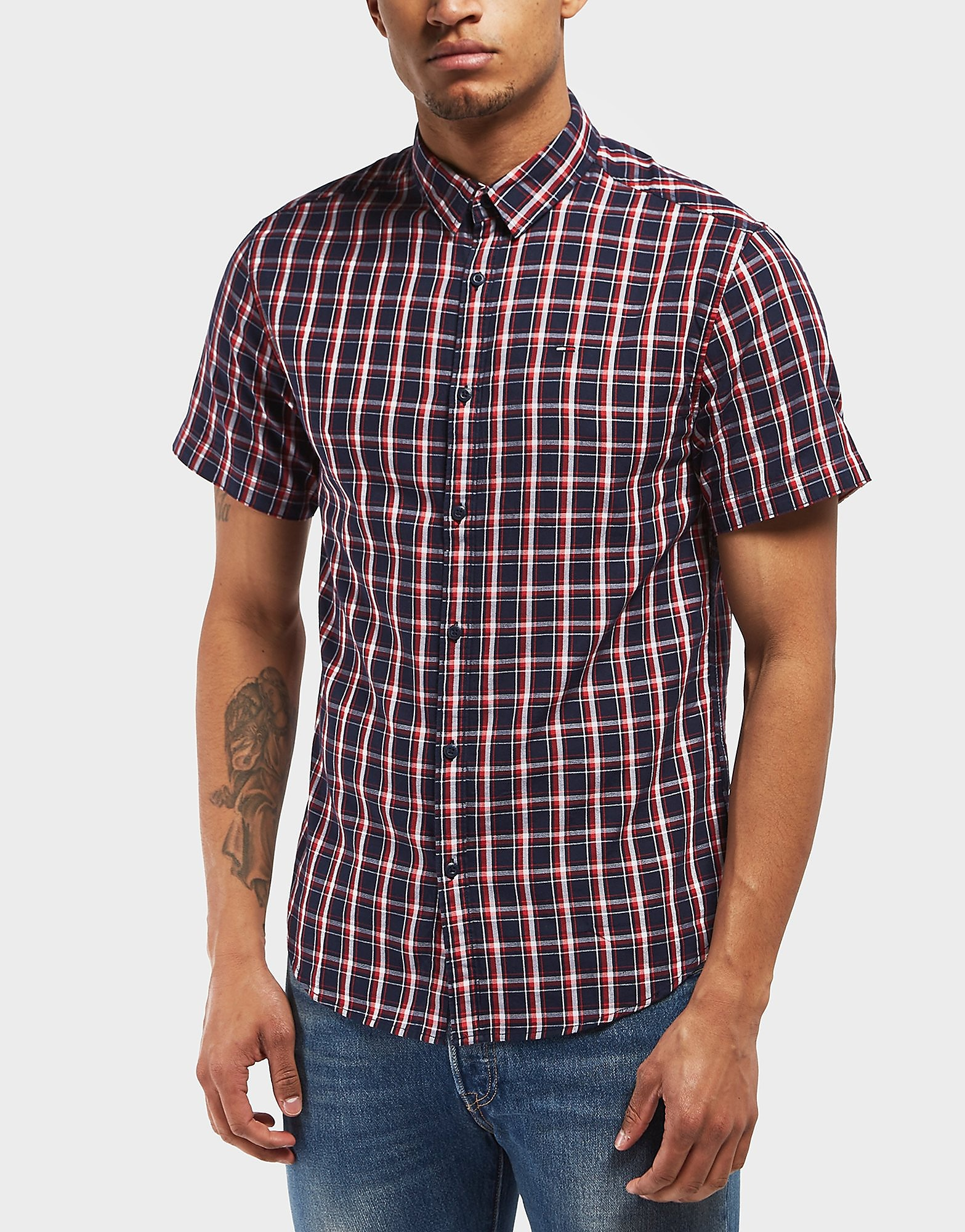 Tommy Hilfiger Short Sleeve Check Shirt