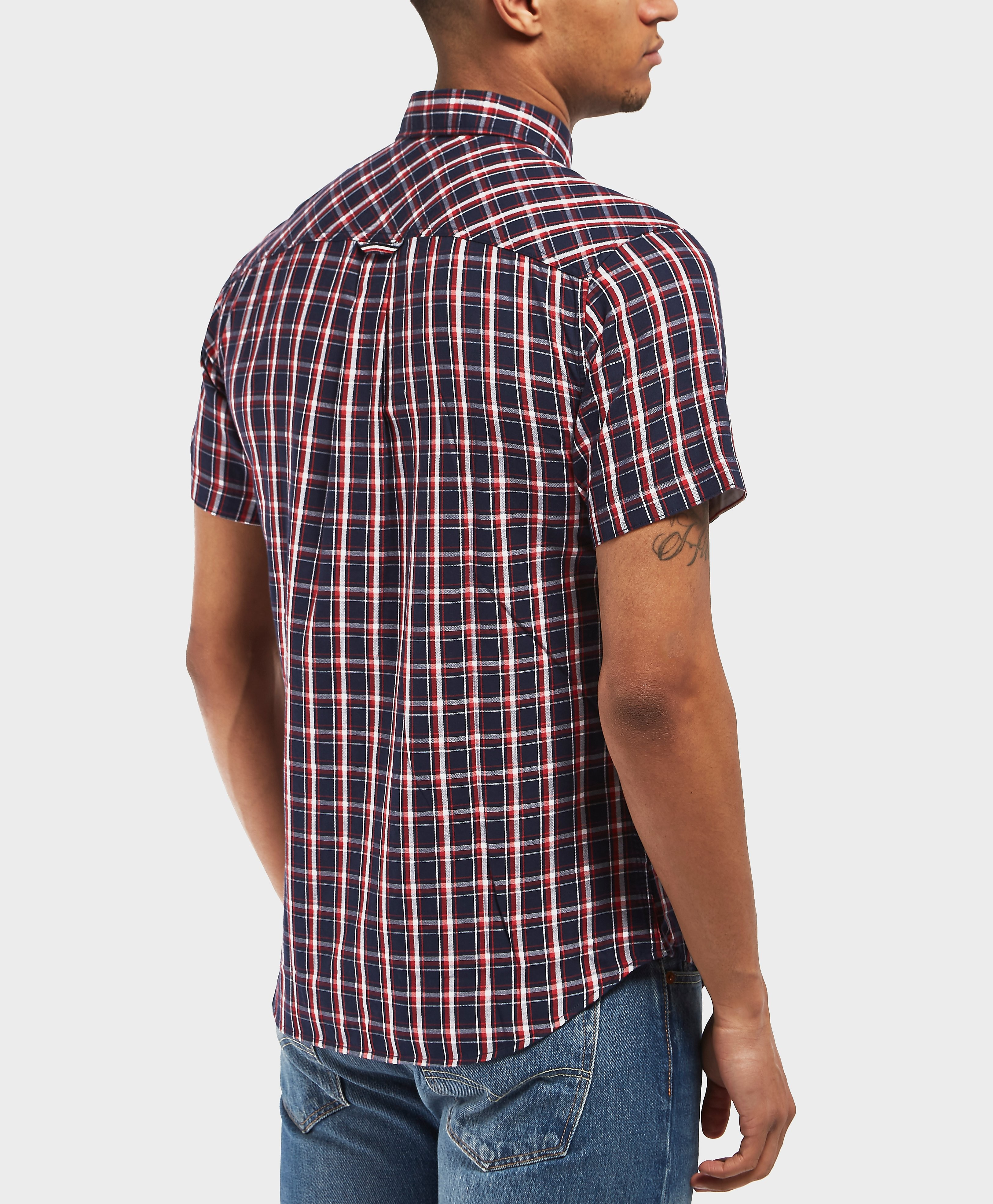 Tommy Hilfiger Short Sleeve Check Shirt