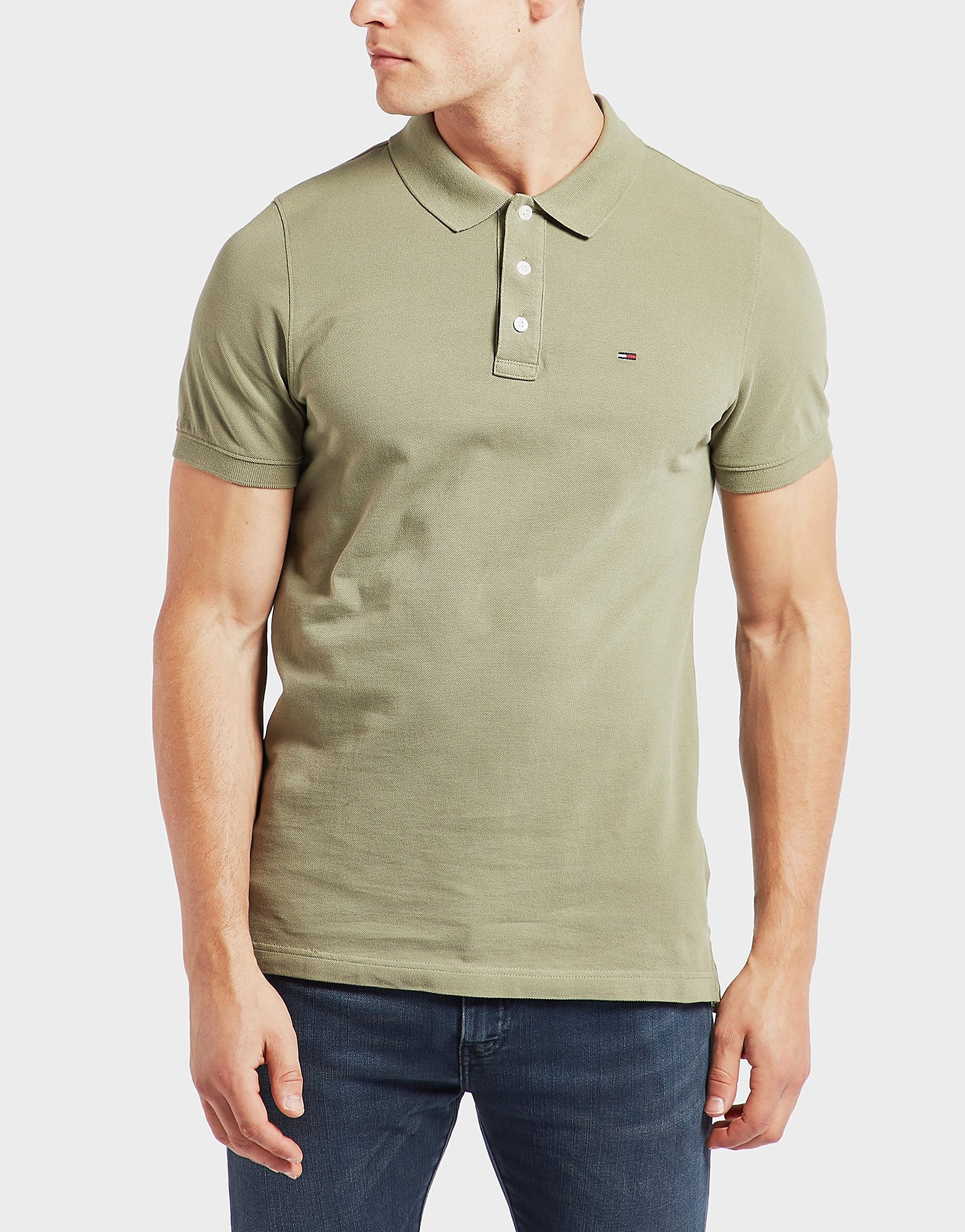 Tommy Hilfiger Basic Flag Short Sleeve Polo Shirt