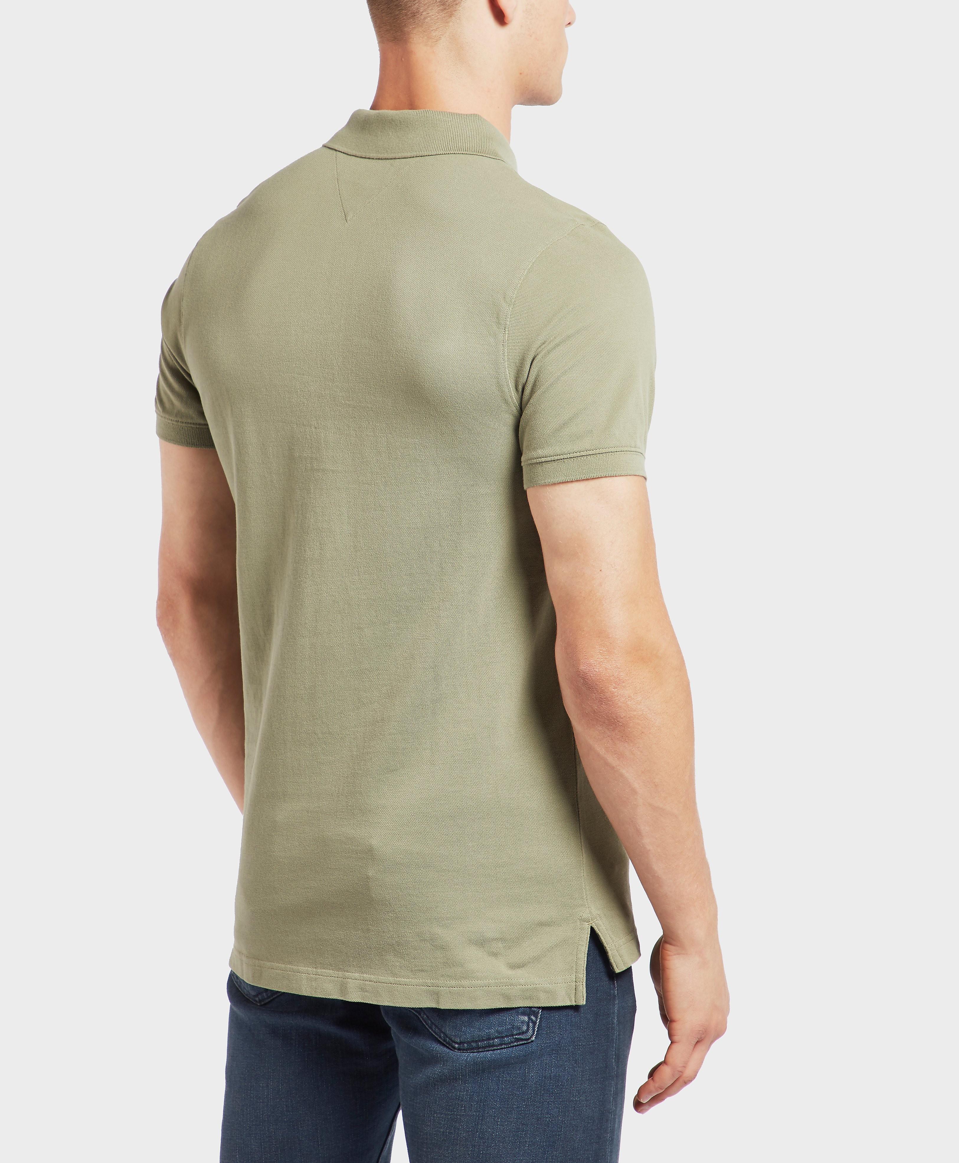 Tommy Hilfiger Basic Flag Short Sleeve Polo Shirt