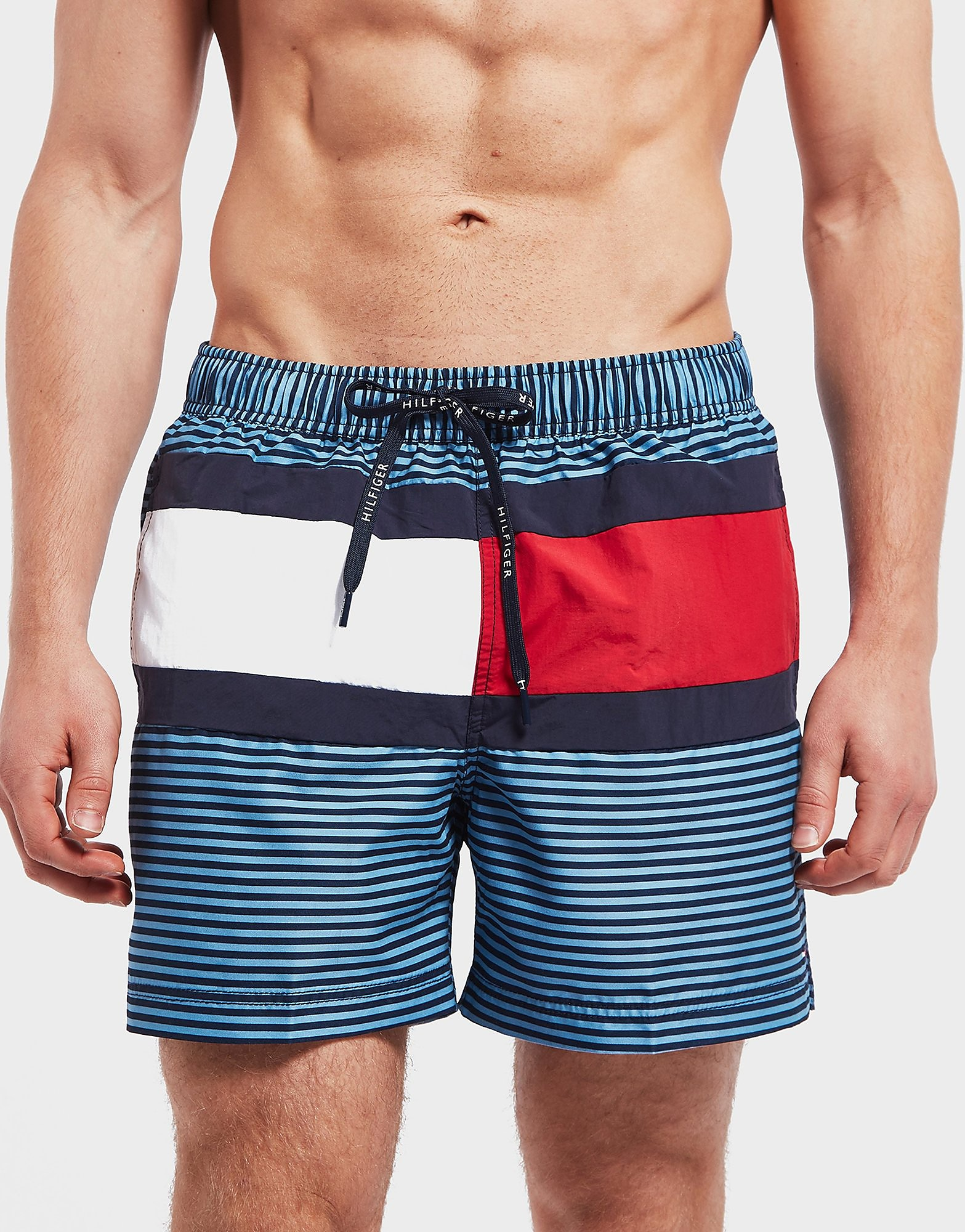 Tommy Hilfiger Stripe Swim Shorts
