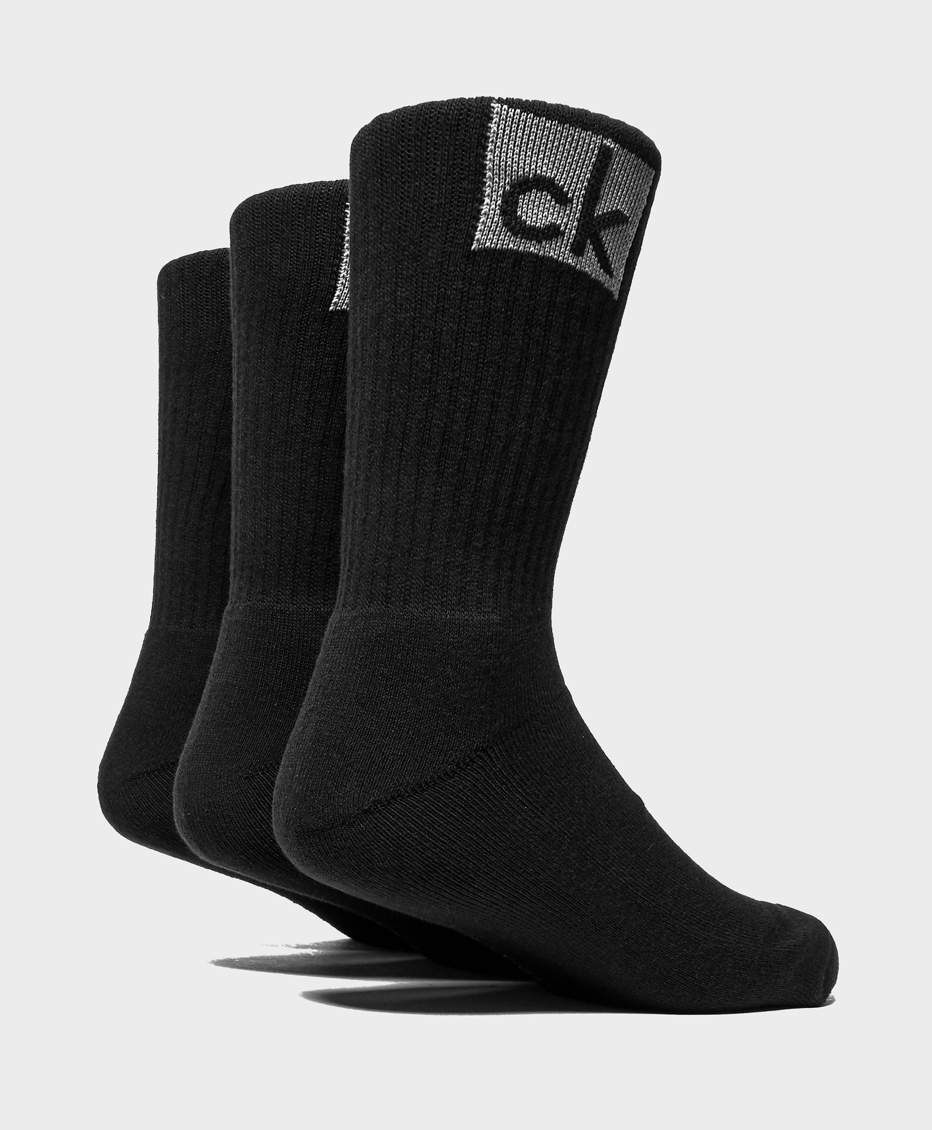 Calvin Klein 3-Pack Logo Socks