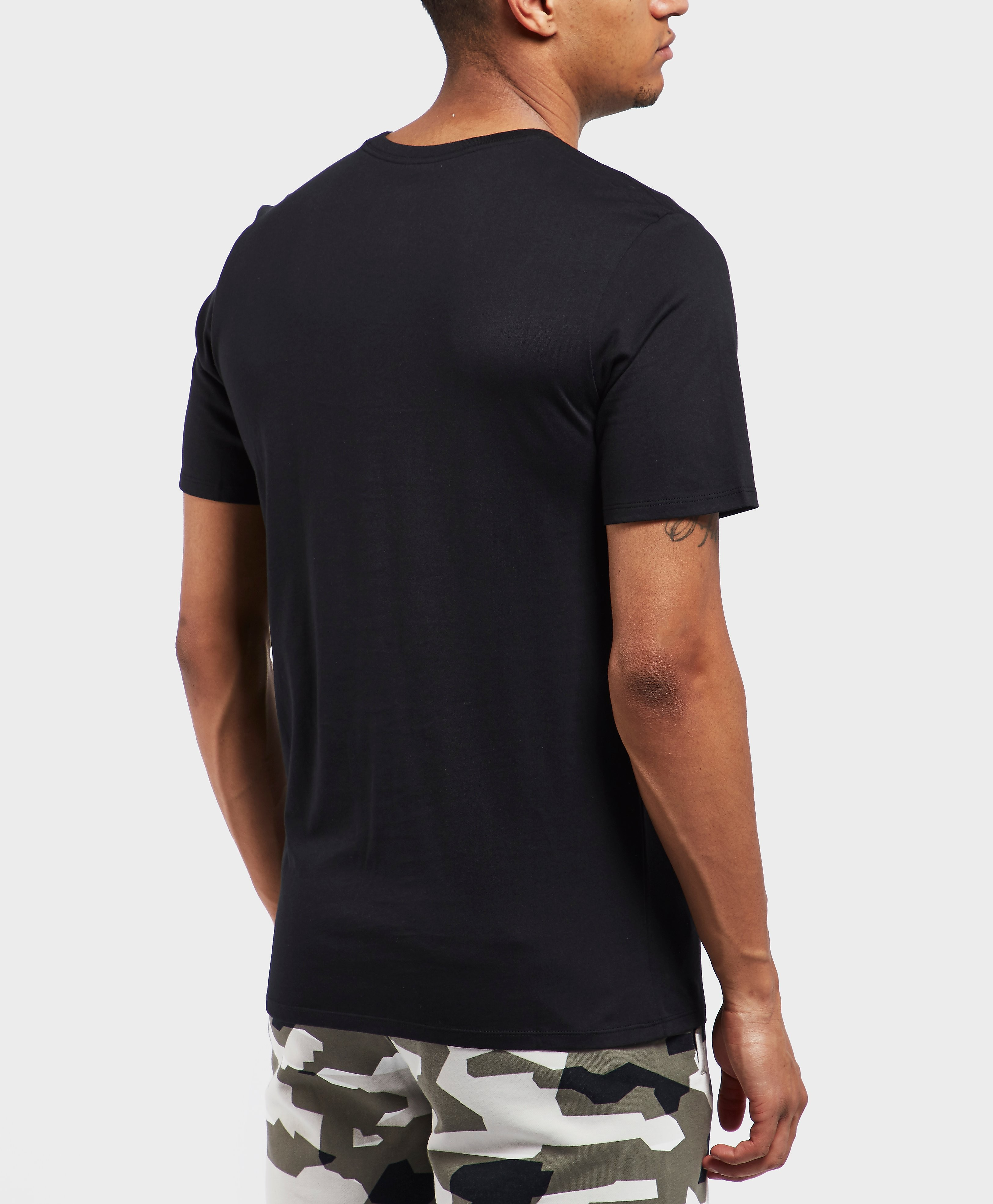 Nike Camo Logo Short Sleeve T-Shirt