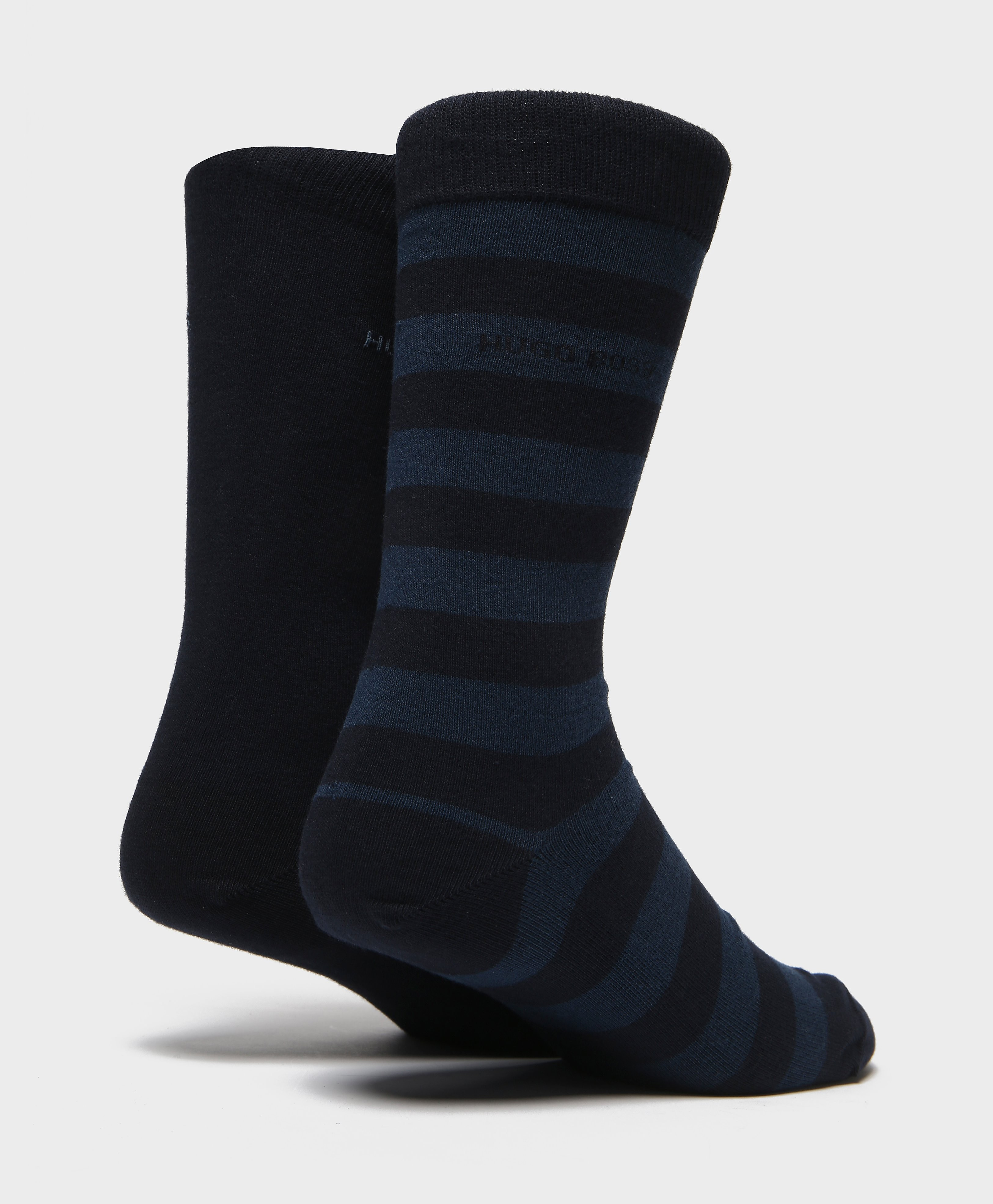 BOSS Two Pack Stripe Socks