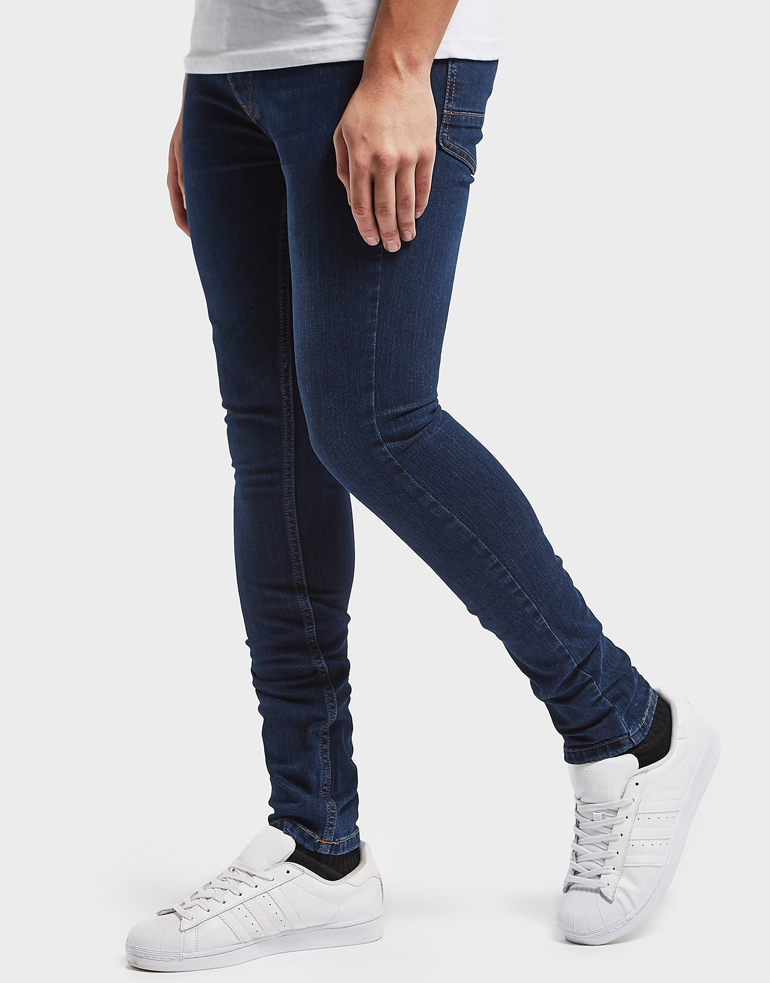 One True Saxon Mid Wash Skinny Jeans - Exclusive