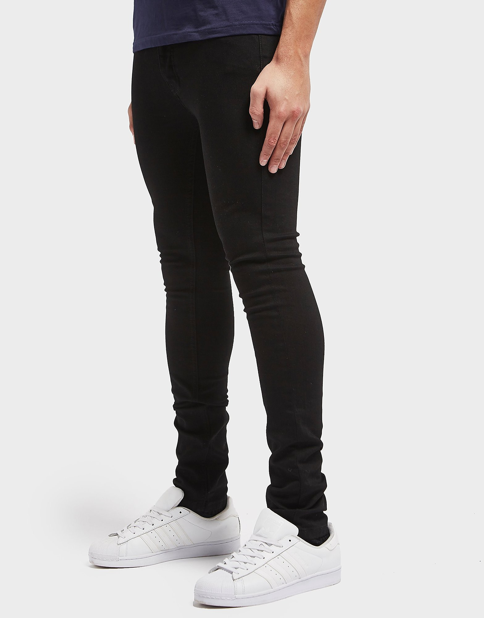 One True Saxon Black Skinny Jeans - Exclusive