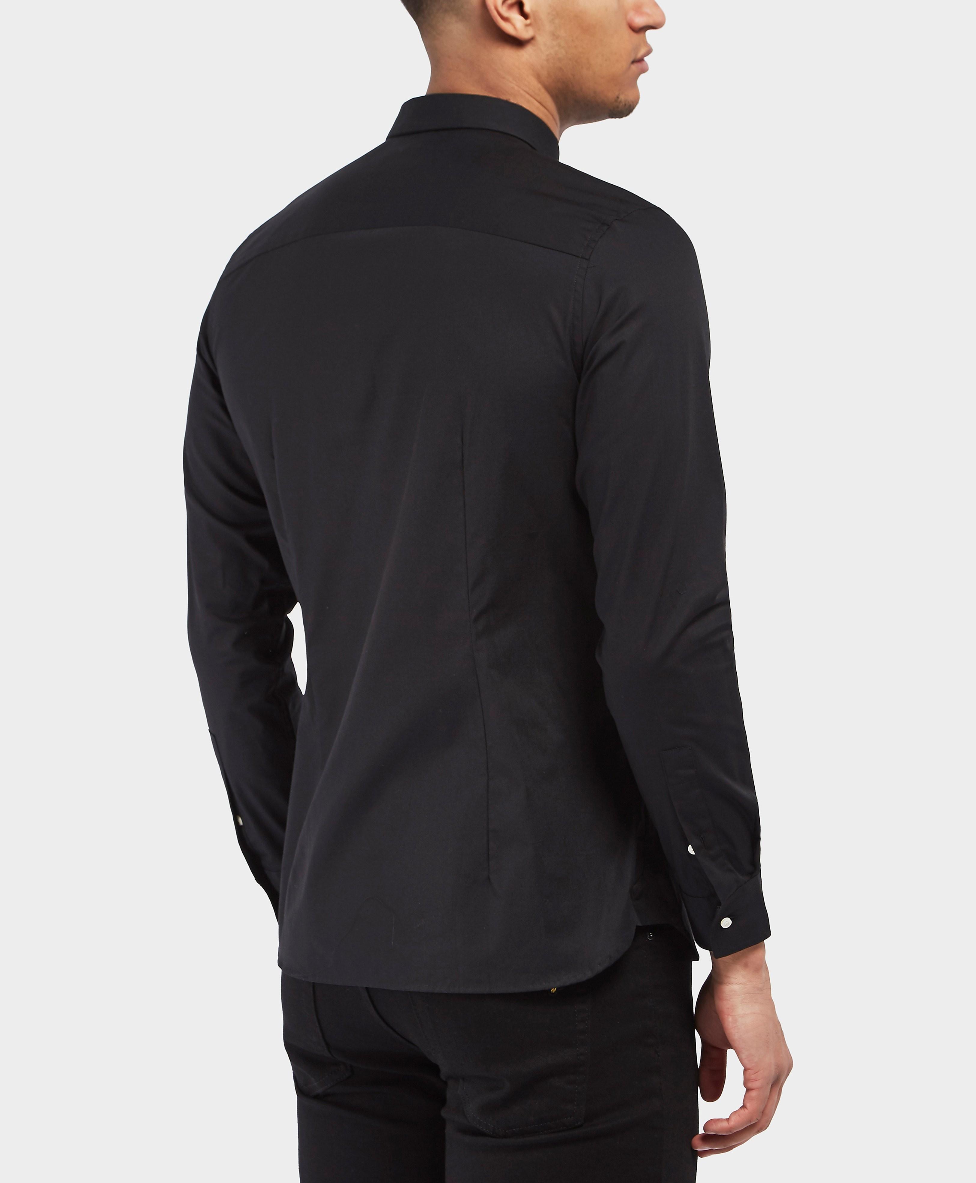 Lyle & Scott Slim Poplin Long Sleeve Shirt