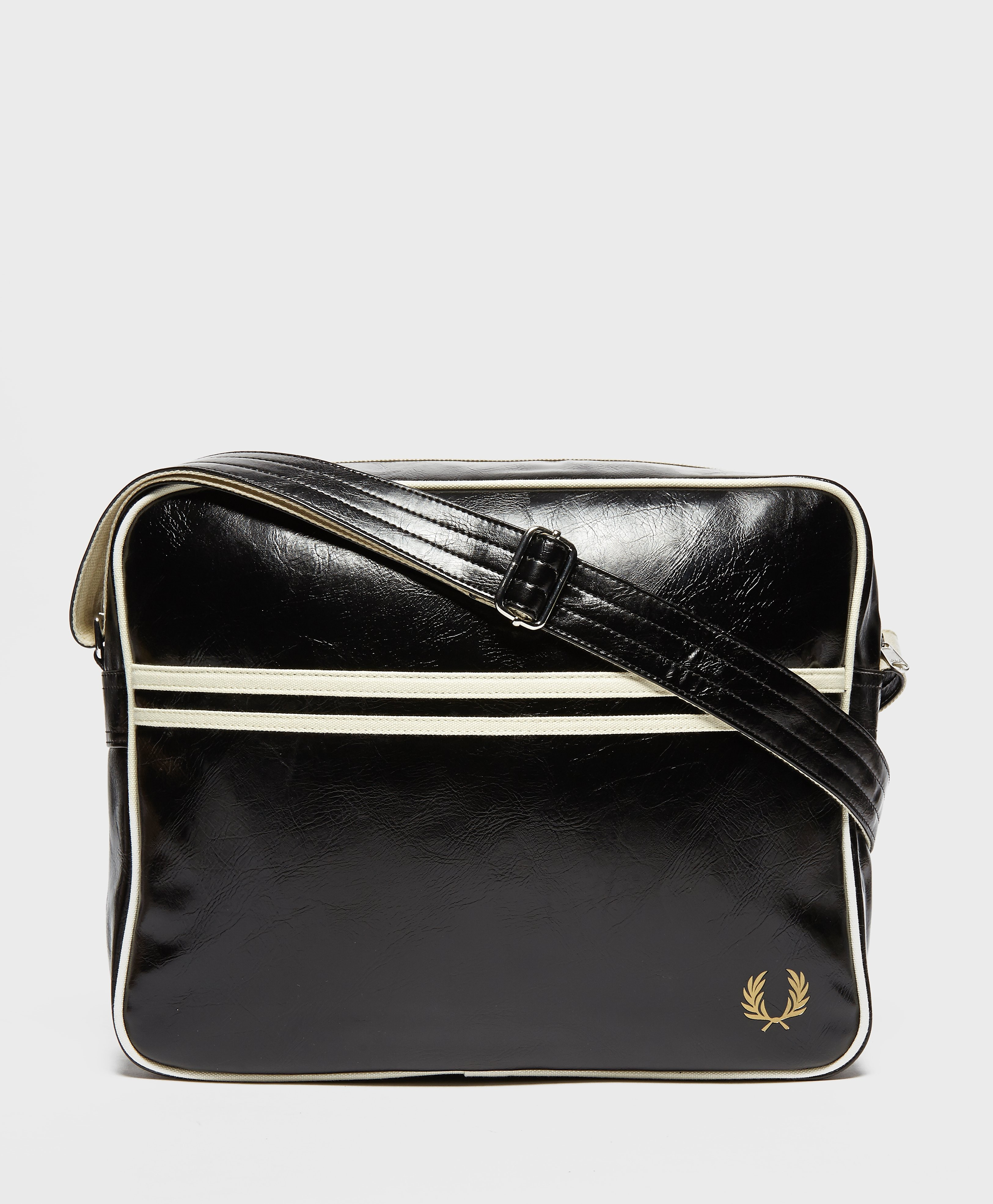 Fred Perry Classic Shoulder Bag  Black Black