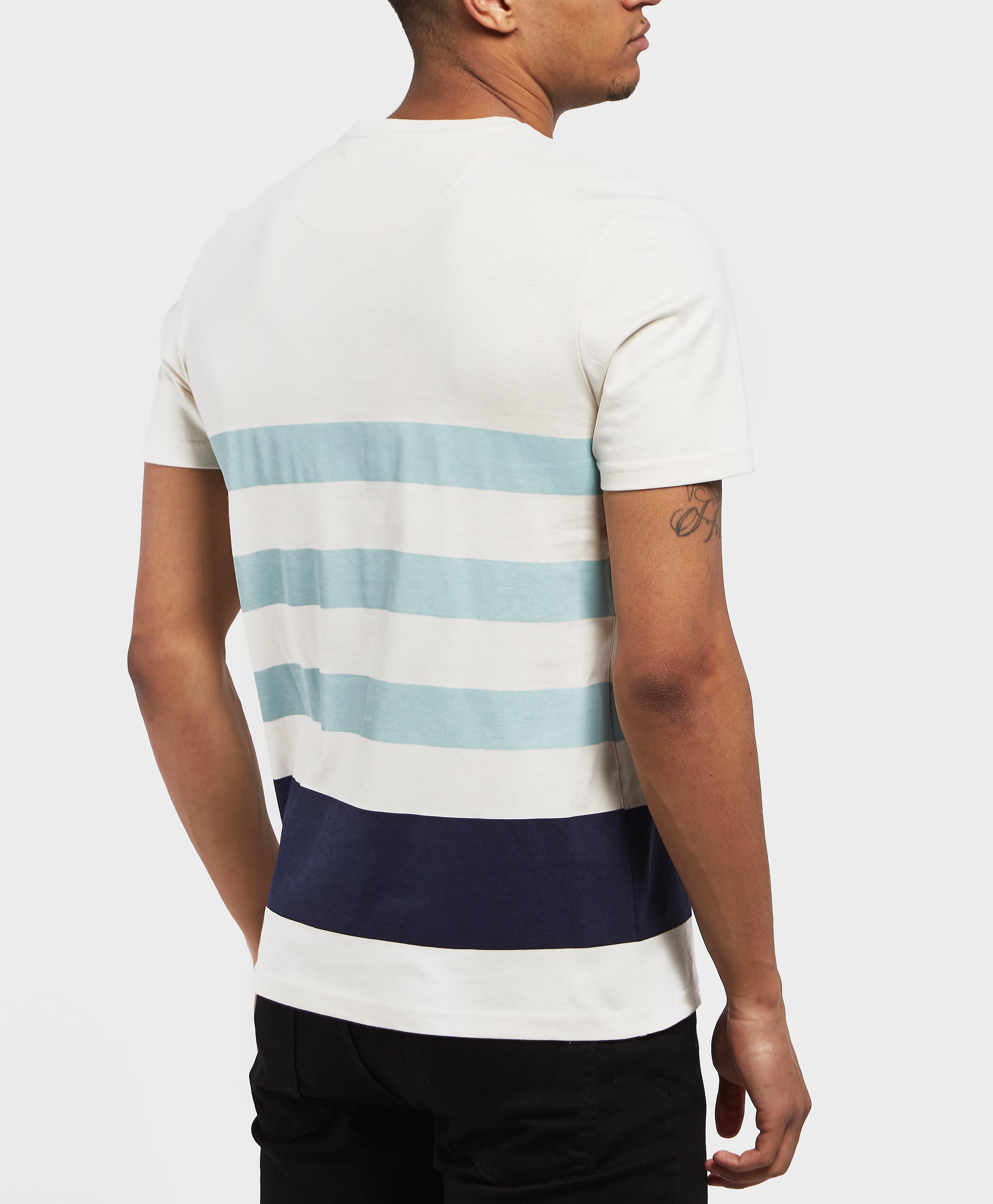 Lyle & Scott Stripe Pocket Short Sleeve T-Shirt