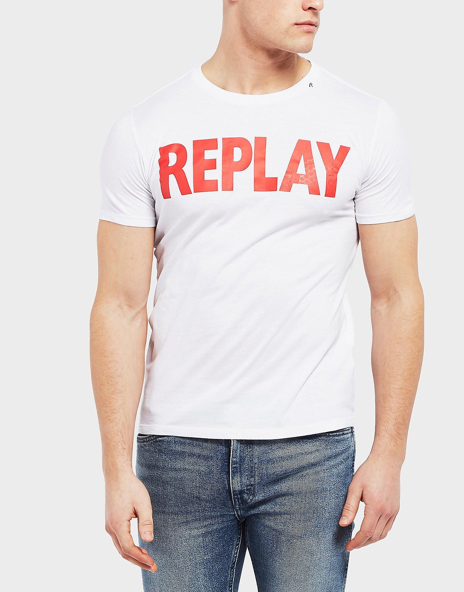 Replay Logo Short Sleeve T-Shirt