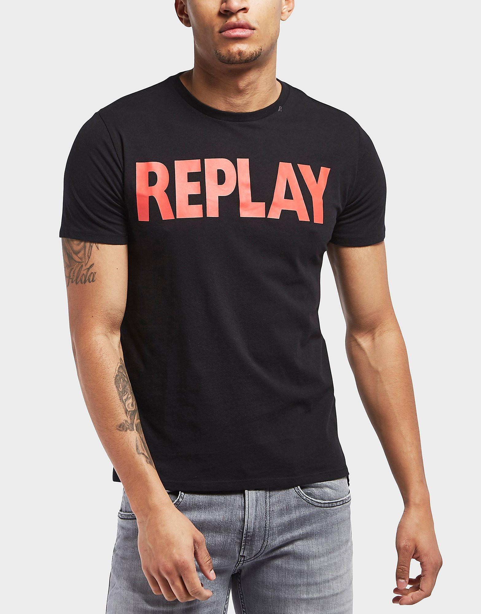 Replay Logo Short Sleeve T-Shirt