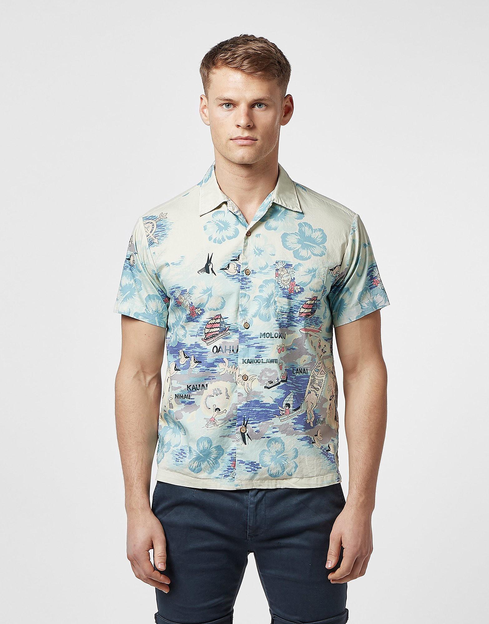Replay Hawaiian Short Sleeve Shirt