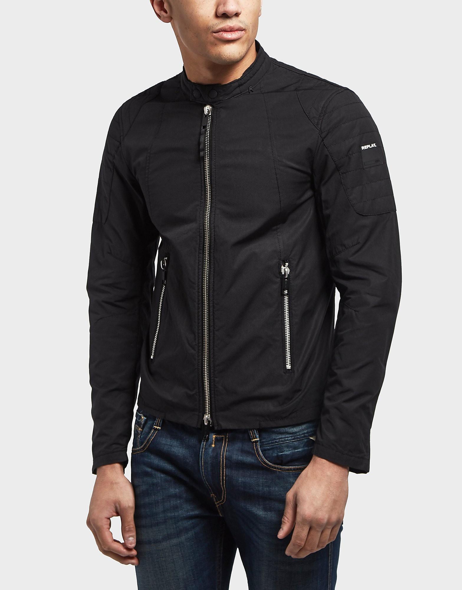 Replay Lightweight Biker Jacket