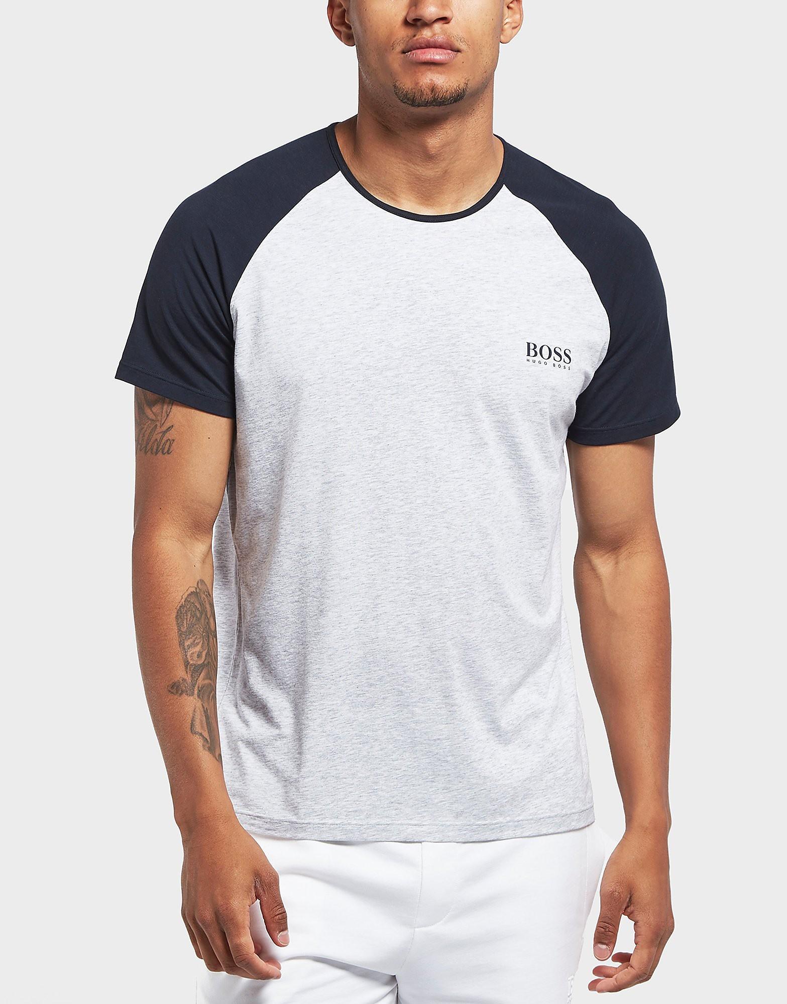 BOSS Raglan Stretch Short Sleeve T-Shirt