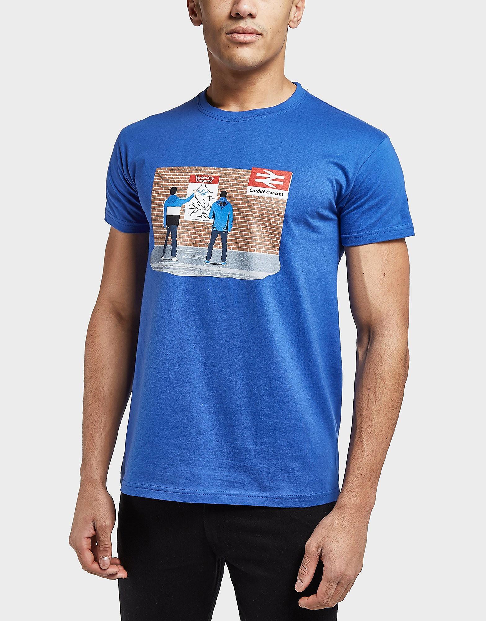 80s Casuals Bluebirds Station Short Sleeve T-Shirt