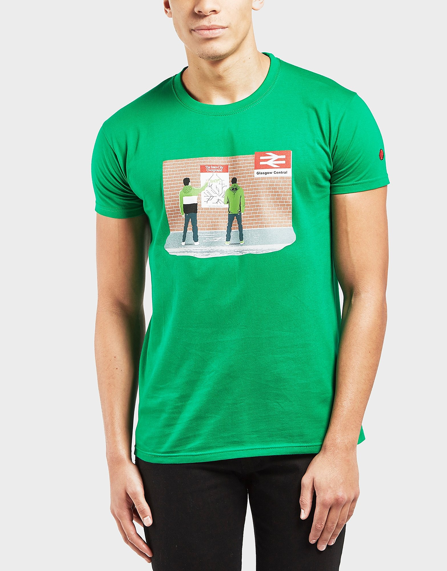 80s Casuals Celtic Station Short Sleeve T-Shirt - Exclusive
