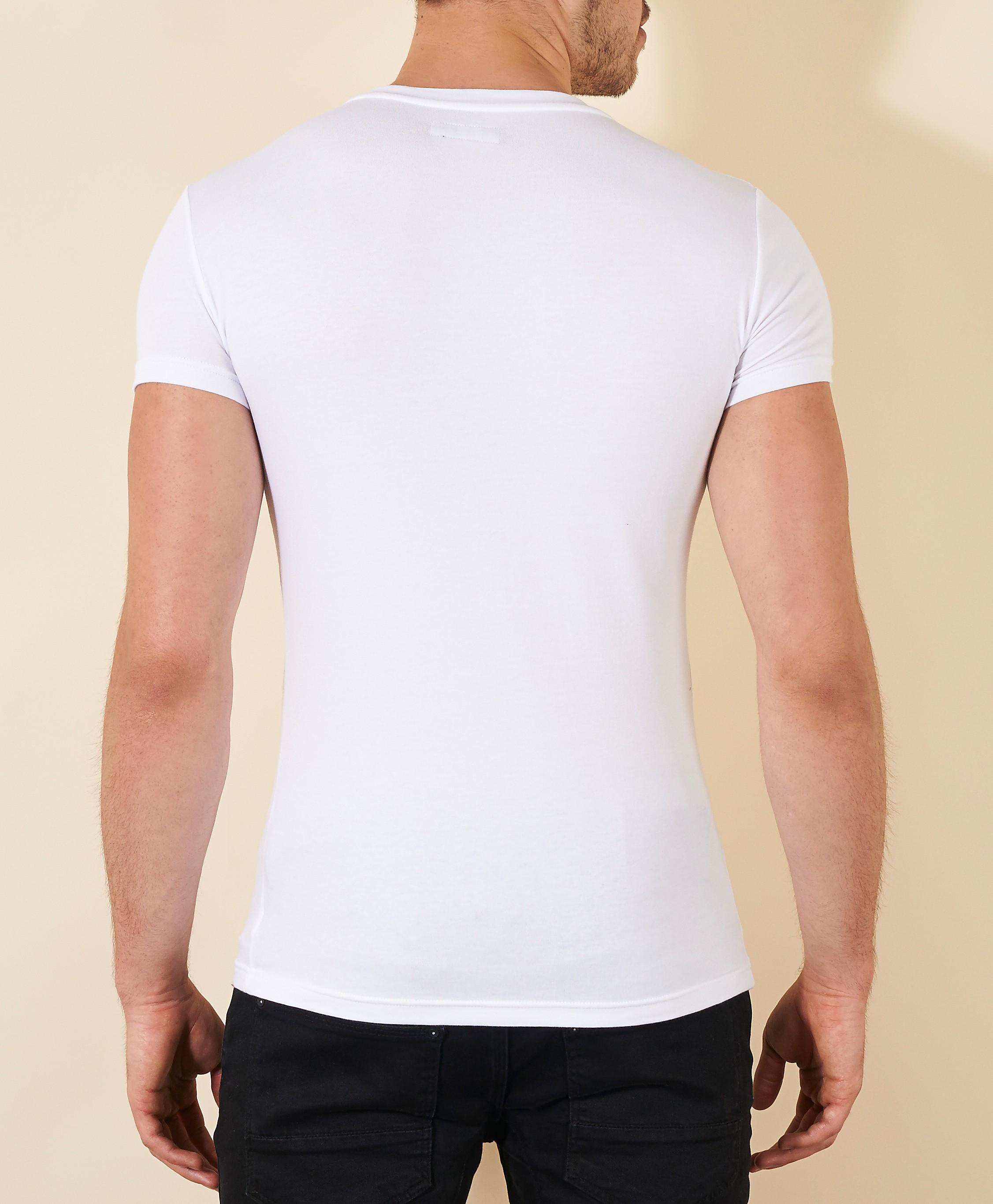 Emporio Armani Eagle Chest Crew T-Shirt