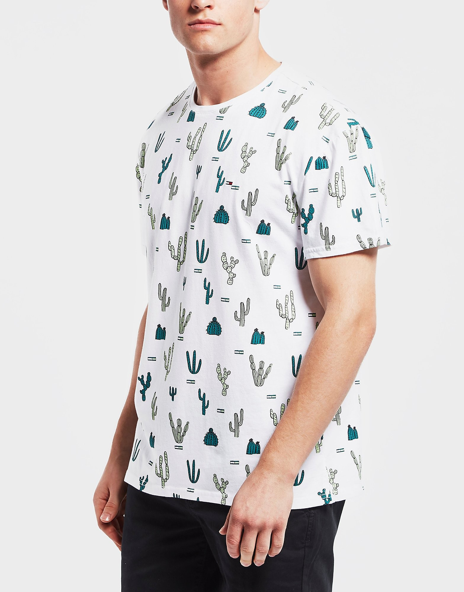 Tommy Hilfiger Cactus Print Short Sleeve T-Shirt