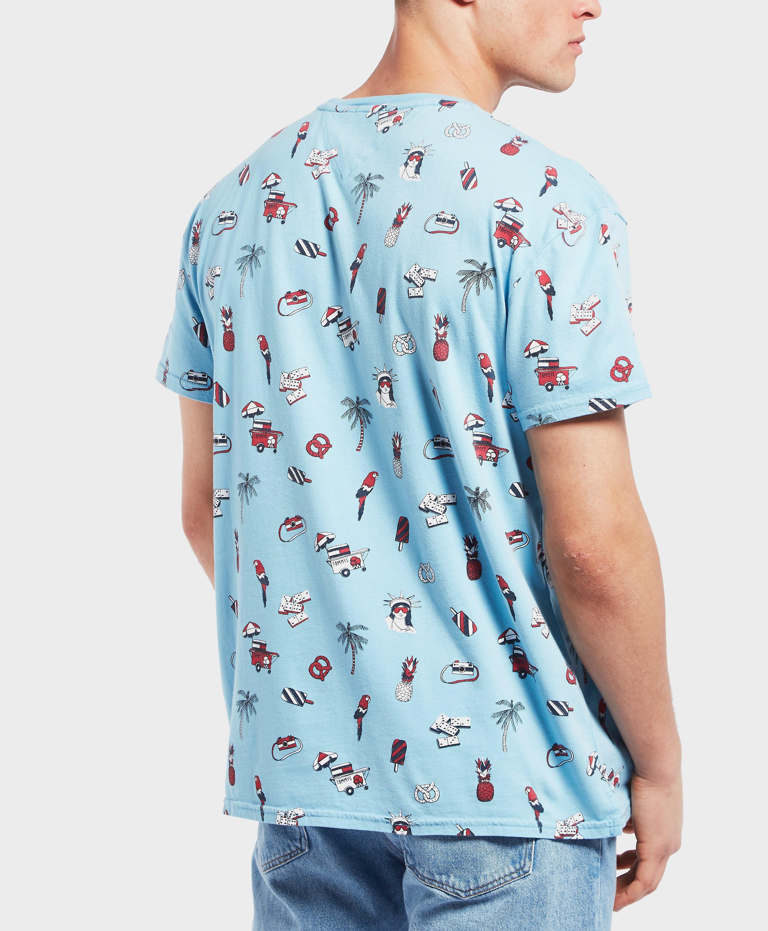 Tommy Hilfiger Ice Cream Print Short Sleeve T-Shirt