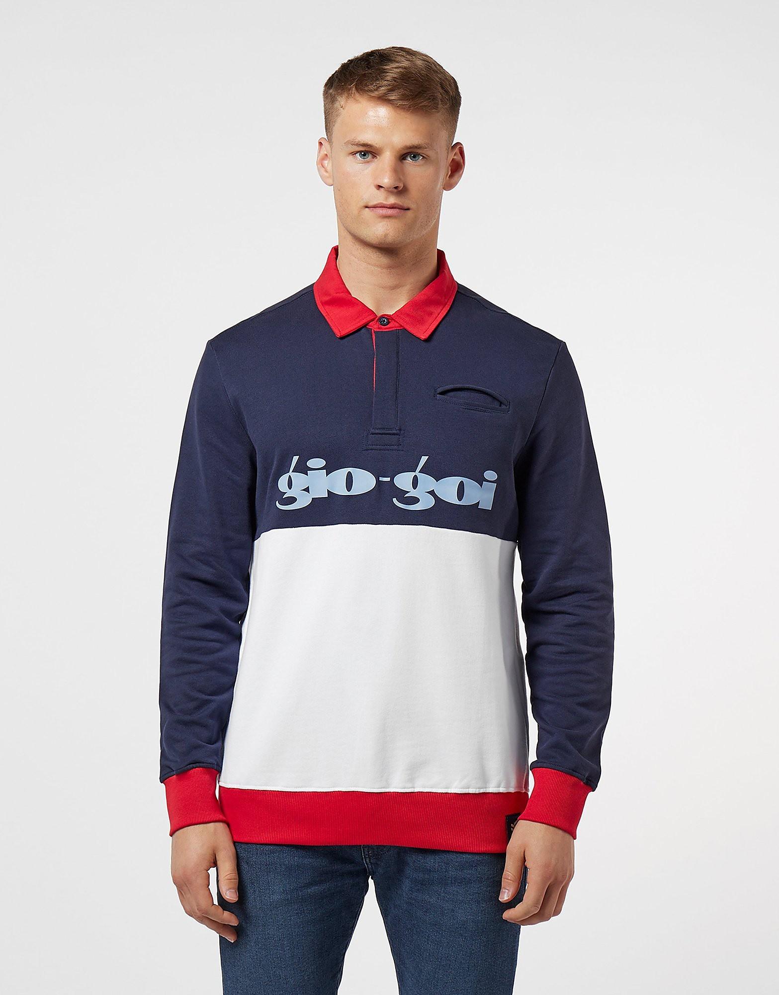 Gio Goi Rugby Polo Sweatshirt