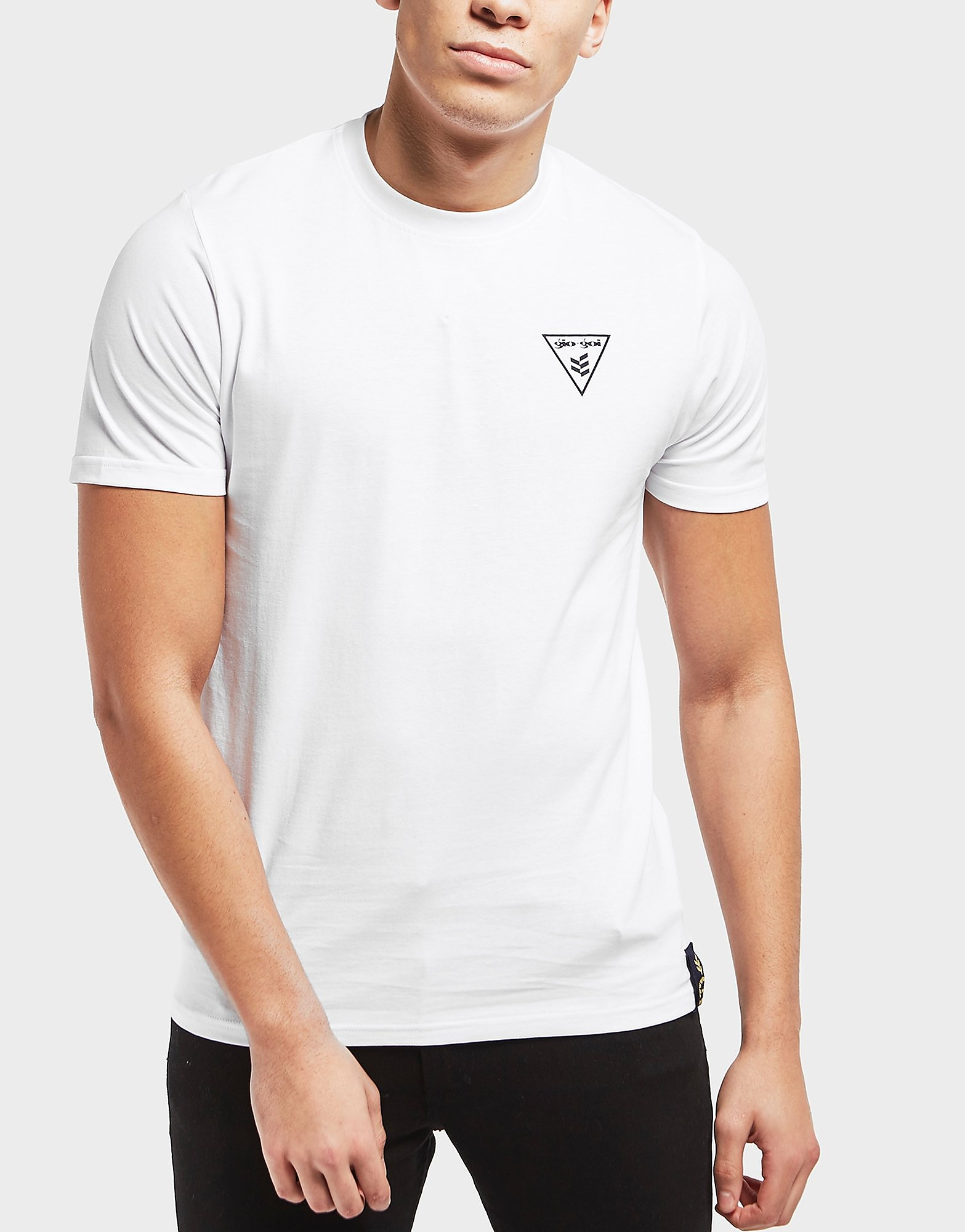 Gio Goi Front & Back Print Short Sleeve T-Shirt