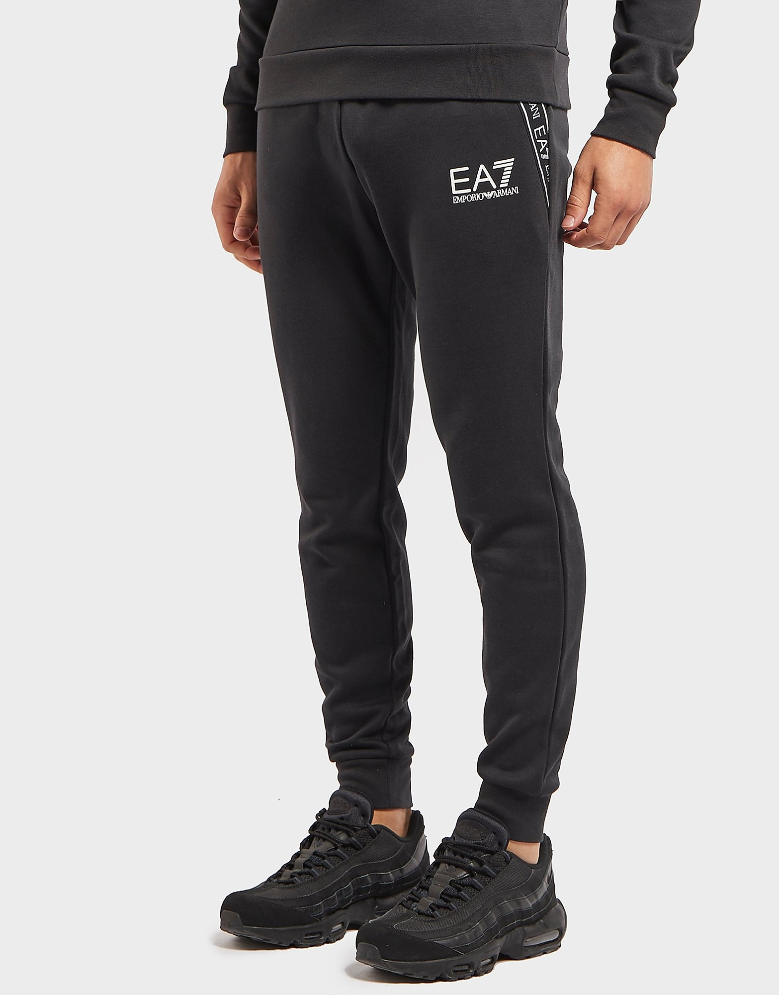 Emporio Armani EA7 Tape Cuffed Fleece Pants - Exclusive
